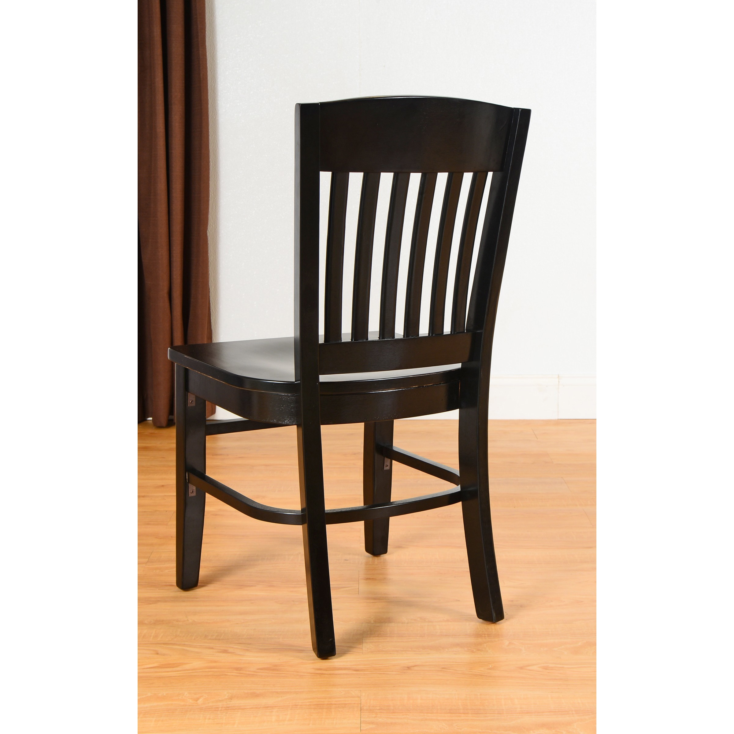 Shop Copper Grove Blackbird Solid Wood School Chairs - On Sale - Free Shipping Today - Overstock.com - 20461156  sc 1 st  Overstock.com & Shop Copper Grove Blackbird Solid Wood School Chairs - On Sale ...