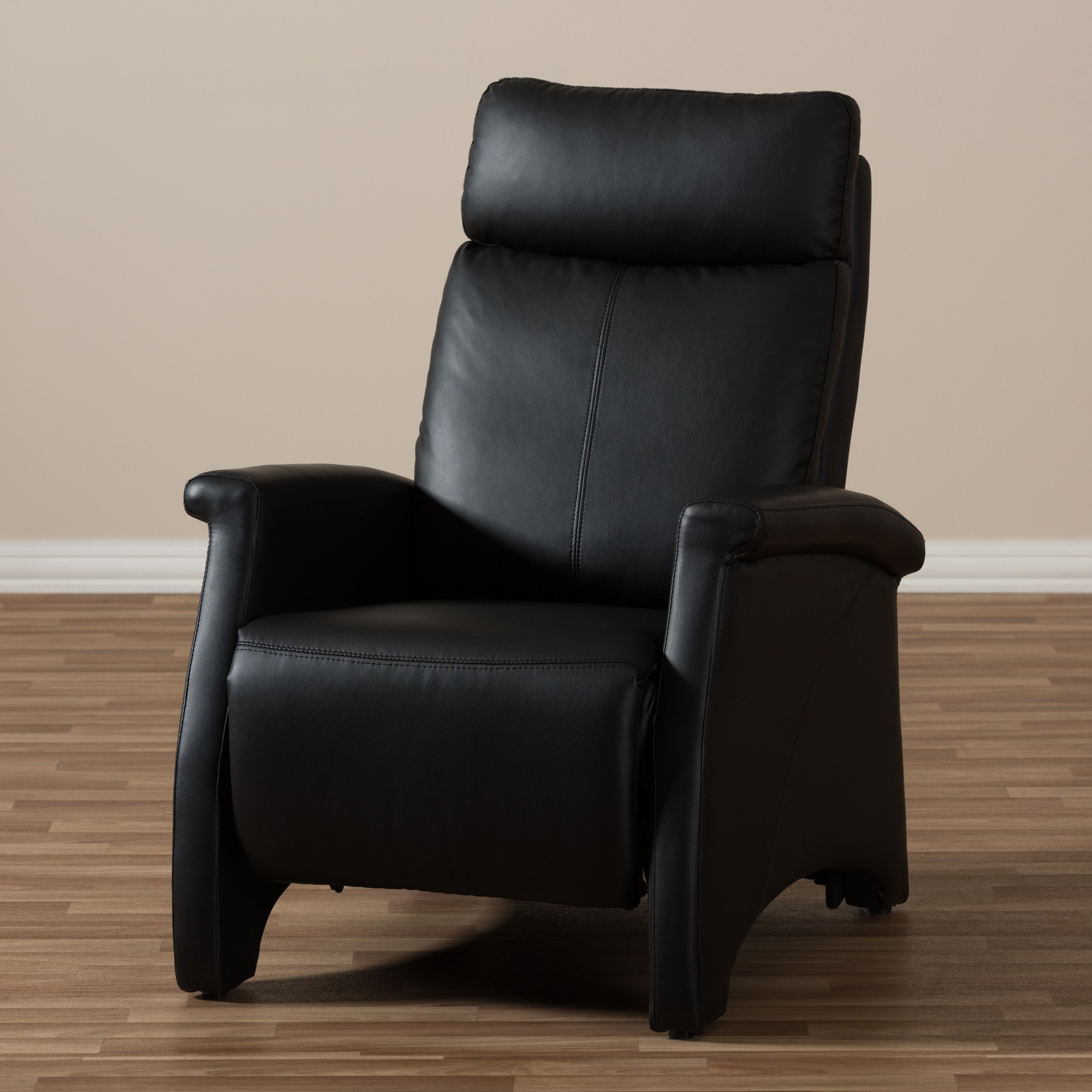 'Sequim' Black Reclining Club Chair - Free Shipping Today - Overstock.com -  14027591