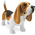Melissa & Doug Plush Basset Hound Stuffed Animal