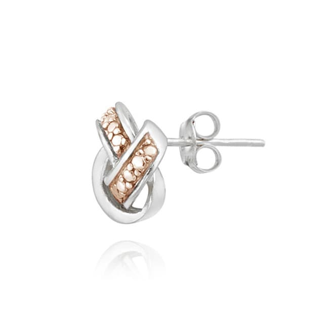 Db Designs Diamond Accent Love Knot Earrings On Free Shipping Orders Over 45 6457917