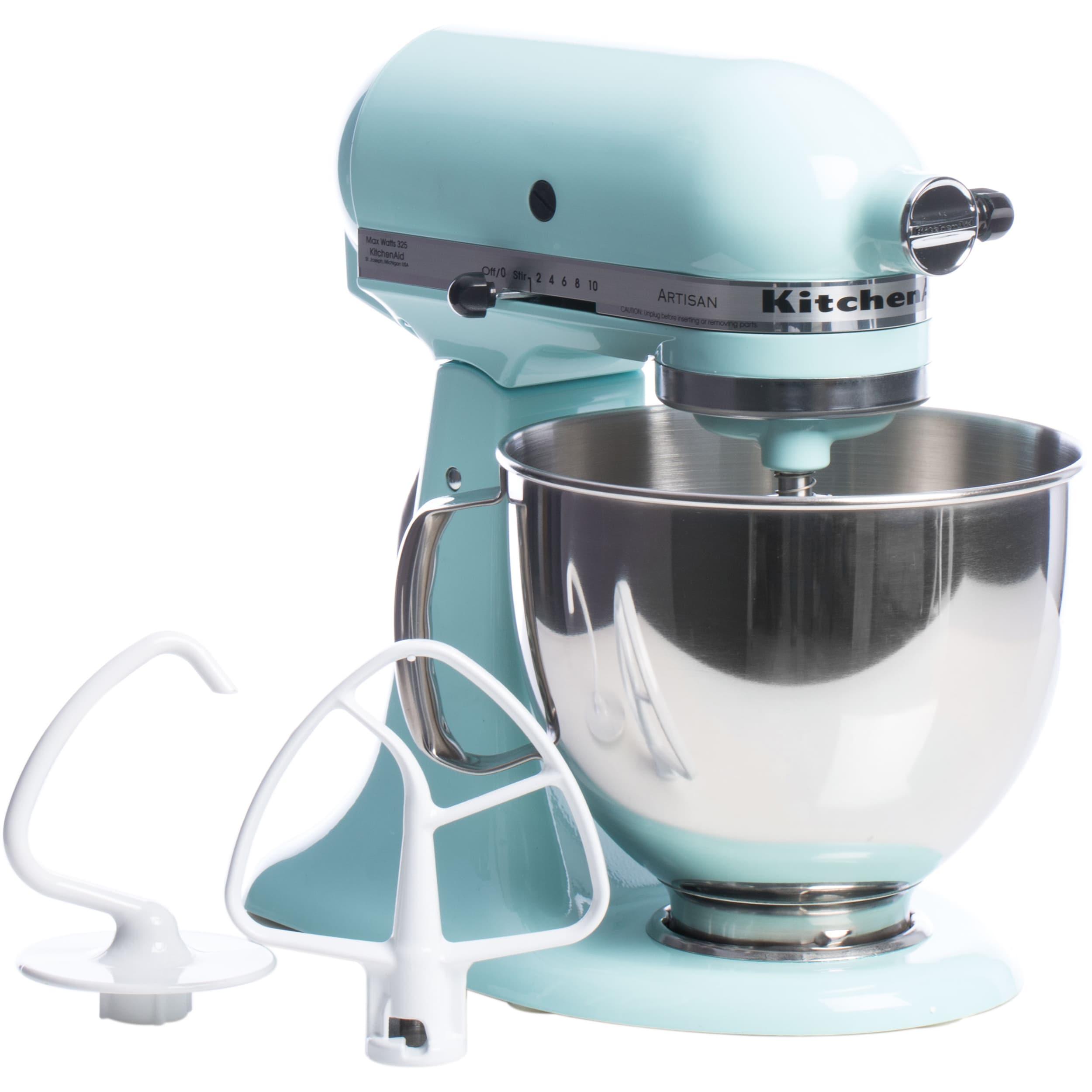 Shop KitchenAid RRK150IC Ice 5-quart Artisan Tilt-Head Stand Mixer ...