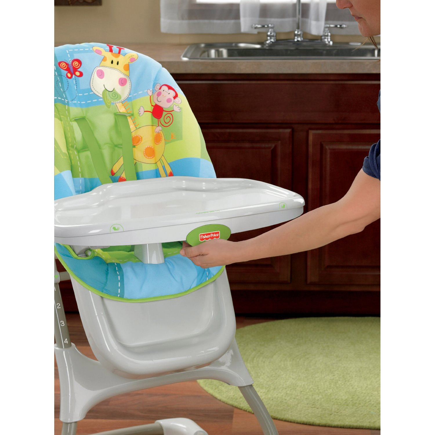 Shop Fisher-Price Discover u0027n Grow EZ Clean High Chair - Ships To Canada - Overstock - 6462750  sc 1 st  Overstock.ca & Shop Fisher-Price Discover u0027n Grow EZ Clean High Chair - Ships To ...