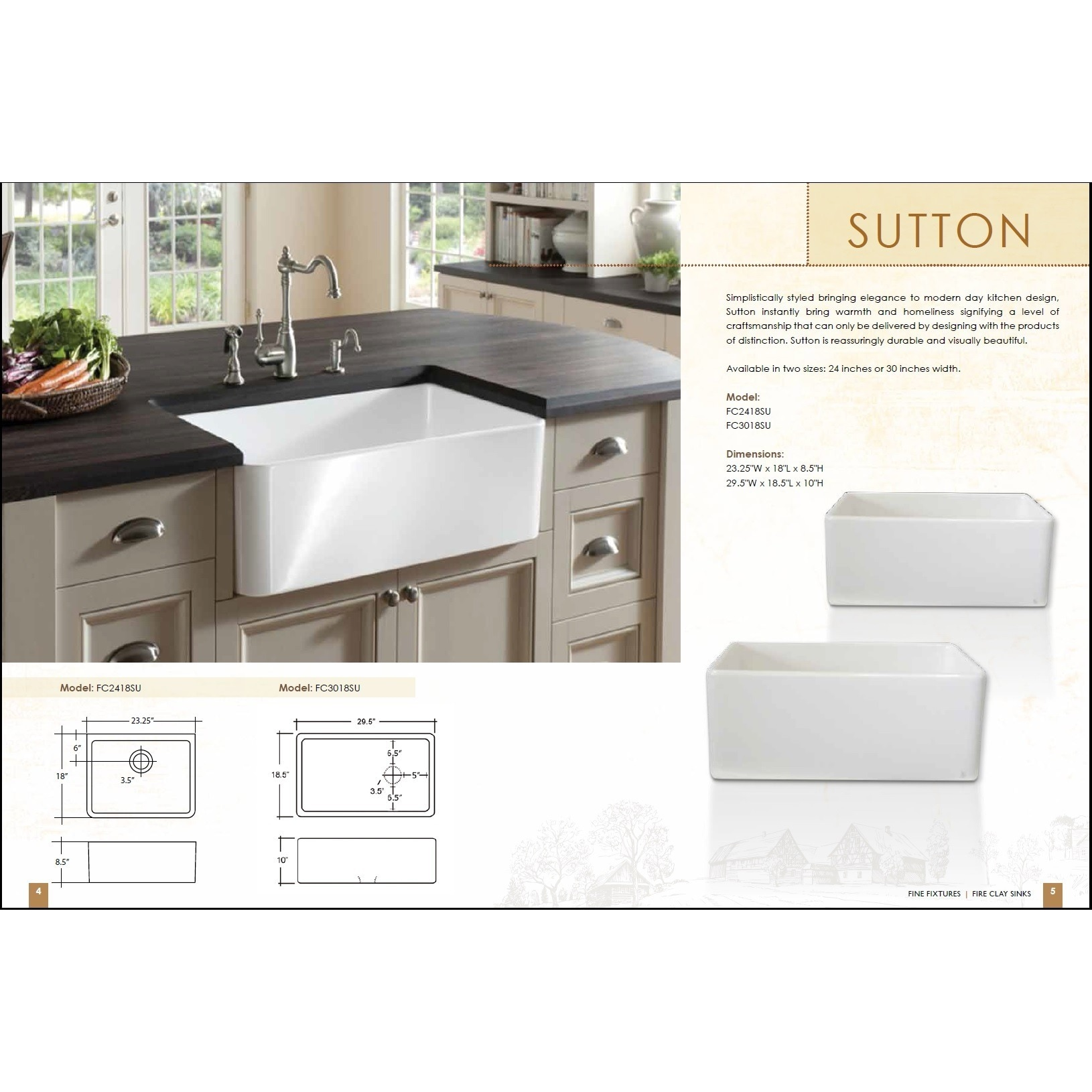 Fine fixtures large white fireclay apron front 295 inch farmhouse fine fixtures large white fireclay apron front 295 inch farmhouse kitchen sink free shipping today overstock 14063343 workwithnaturefo
