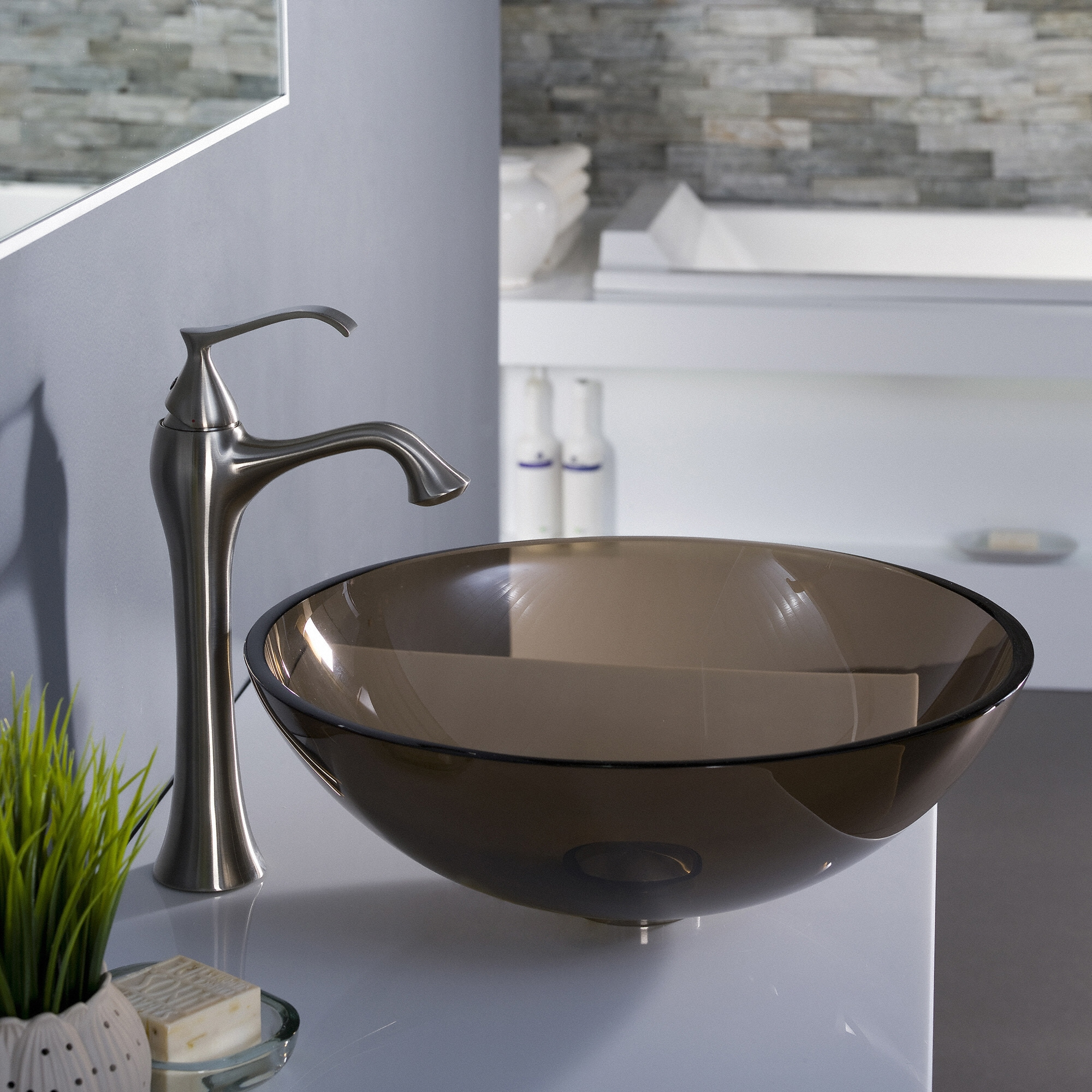 Kraus Ventus Single Hole Handle Vessel Bathroom Faucet On Free Shipping Today 6473125