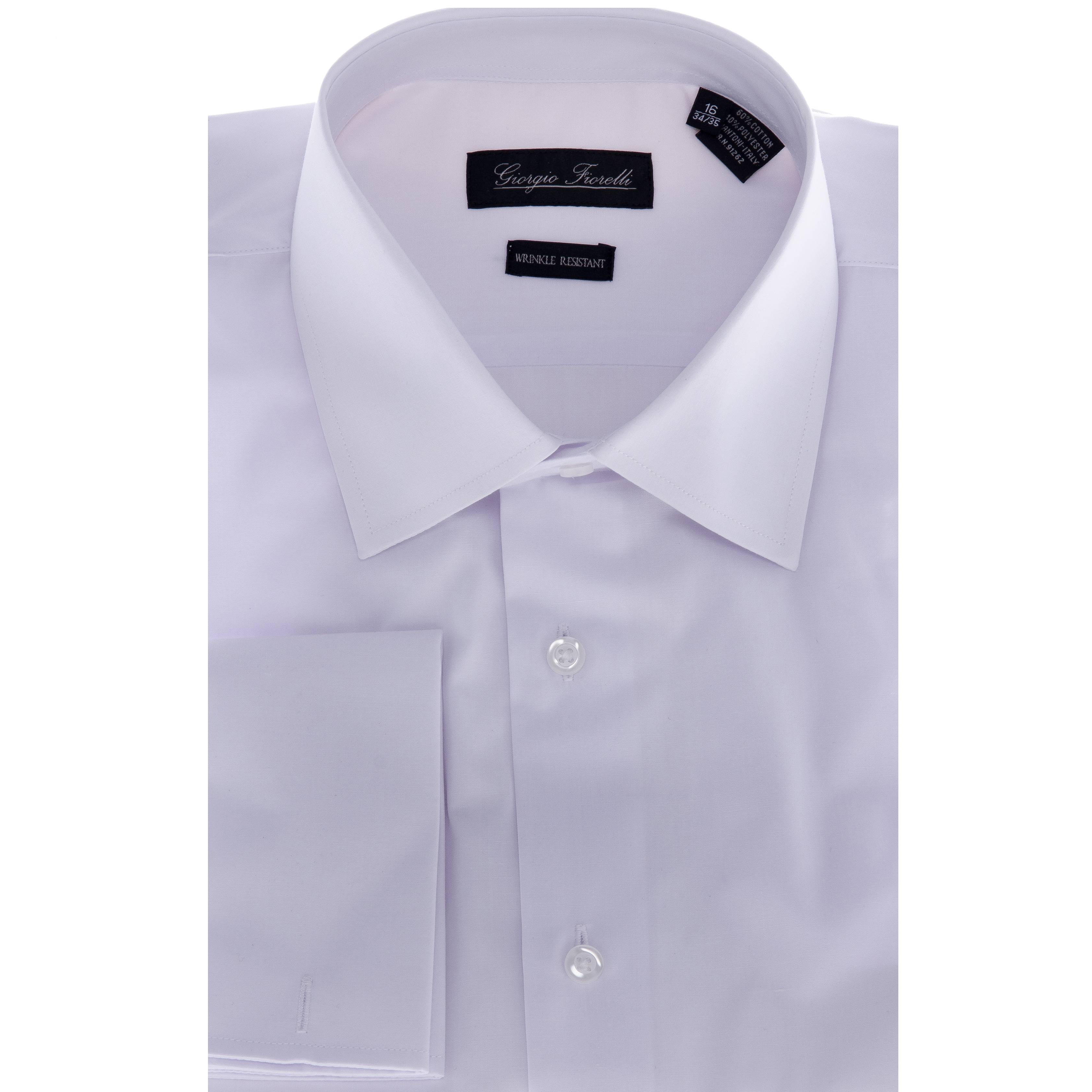 Shop Mens White Modern Fit Dress Shirt Free Shipping On Orders