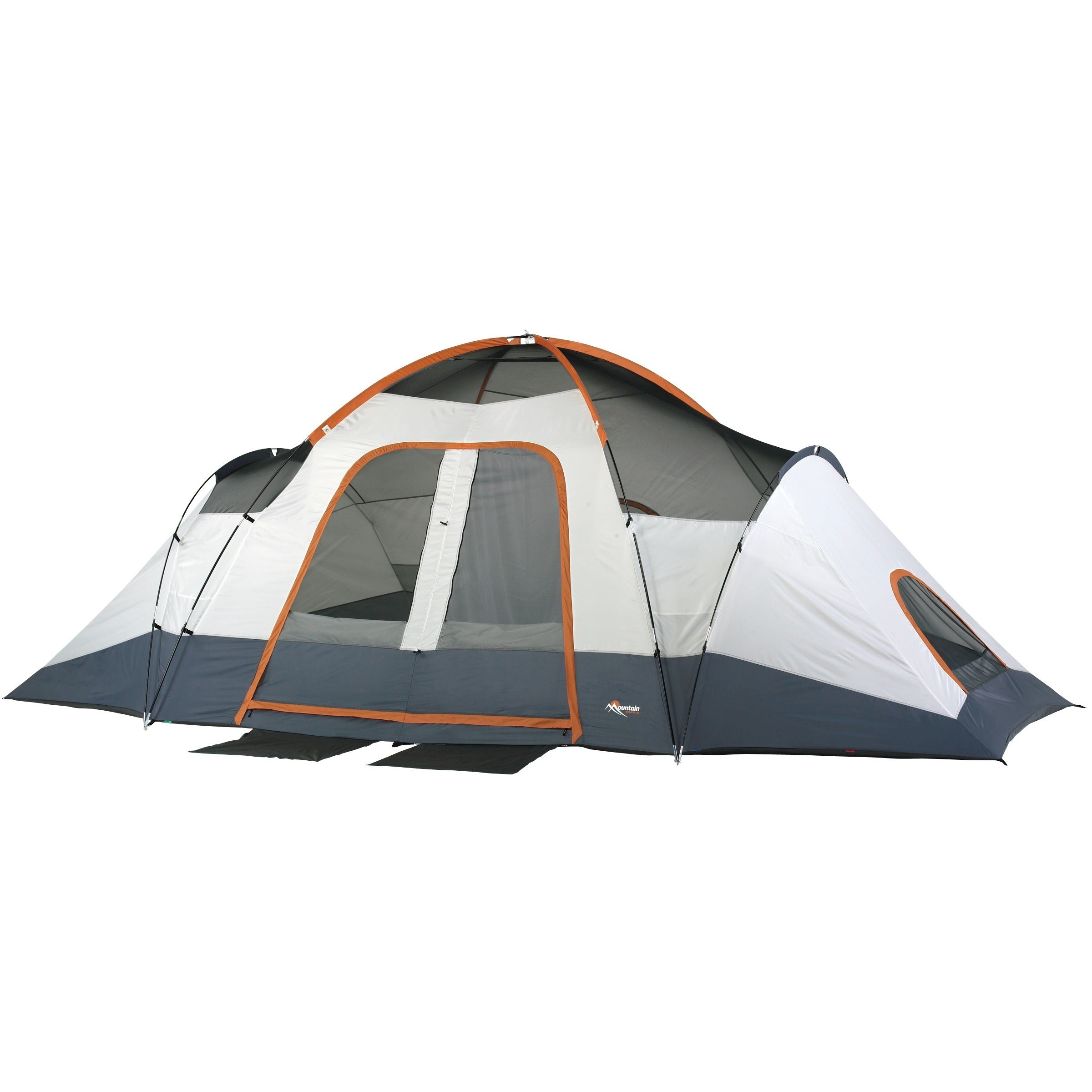 Mountain Trails Grand Pass 9-person 2-room Family Dome Tent - Free Shipping Today - Overstock.com - 14079261  sc 1 st  Overstock.com & Mountain Trails Grand Pass 9-person 2-room Family Dome Tent - Free ...
