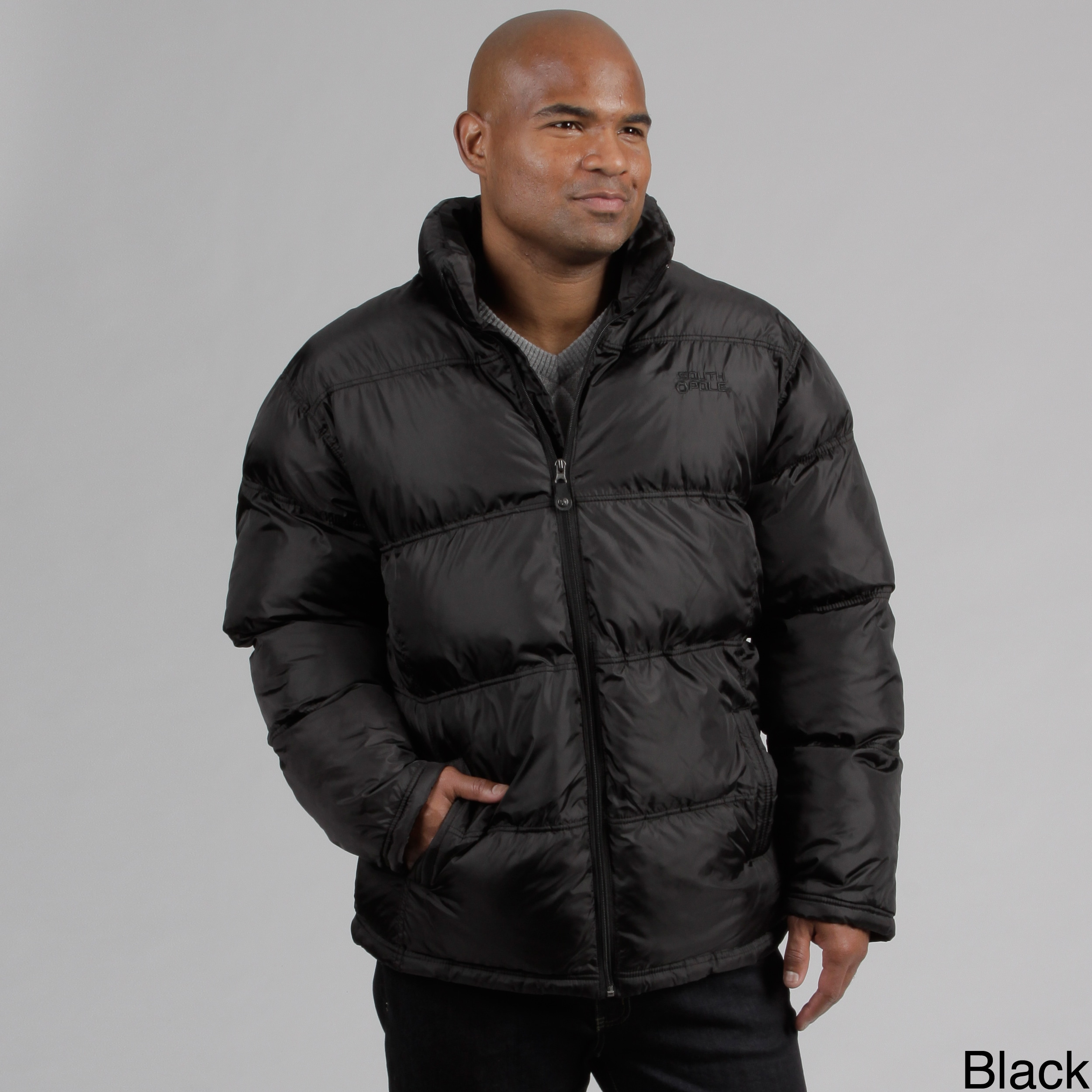 Shop South Pole Men s Puffy Jacket - Free Shipping On Orders Over ... e427c37b1