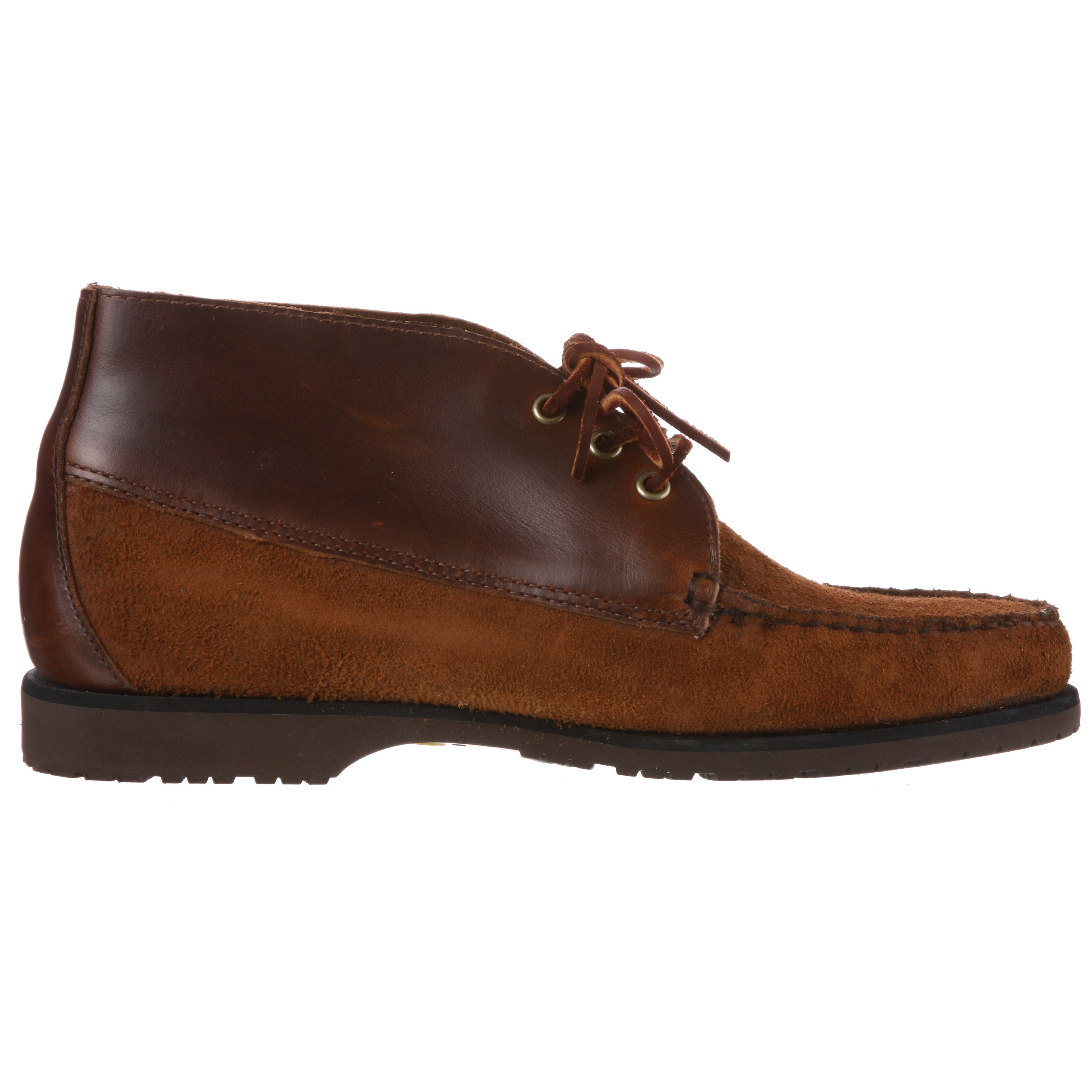 e3eeeb4d2565d Shop Sebago Men's 'Badlands' Cedar Leather Chukka Boots - Free Shipping On  Orders Over $45 - Overstock - 6507492