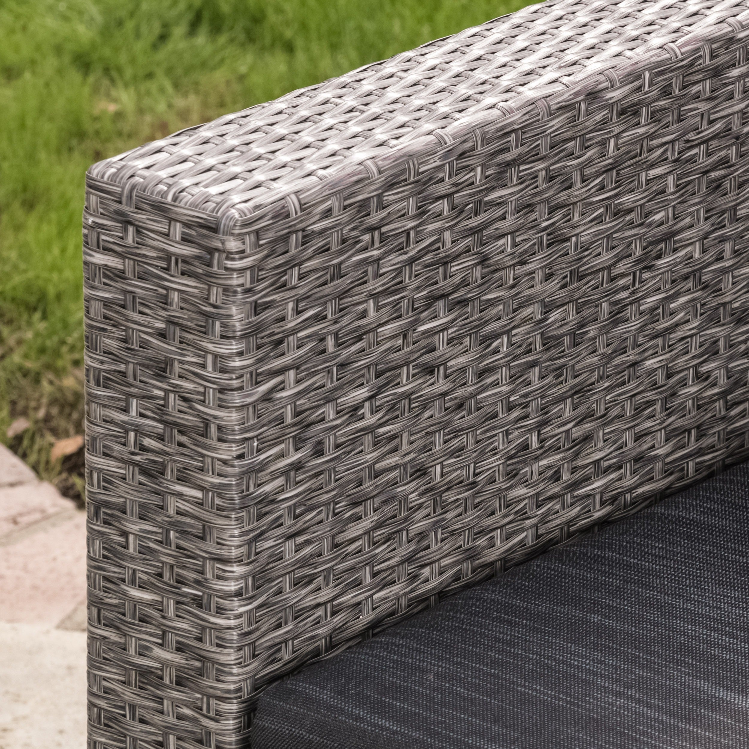 Puerta Outdoor 4 Piece Sofa Set By Christopher Knight Home   Free Shipping  Today   Overstock.com   14105082