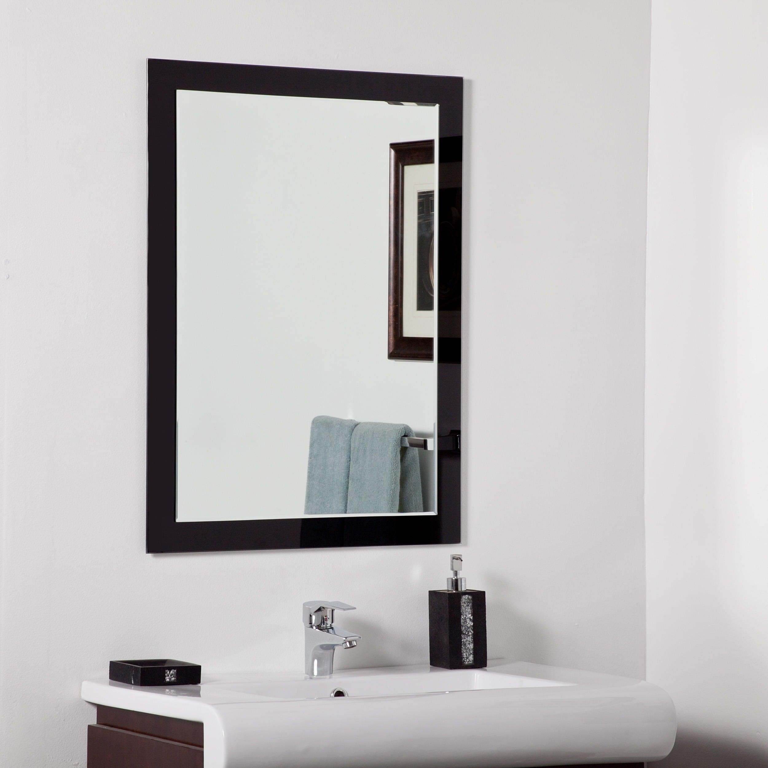 Shop Aris Modern Bathroom Mirror - Free Shipping Today - Overstock ...