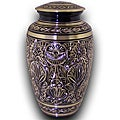 Star Legacy's Royal Brass Extra Large Pet Urn for Pets Up to 185 Pounds