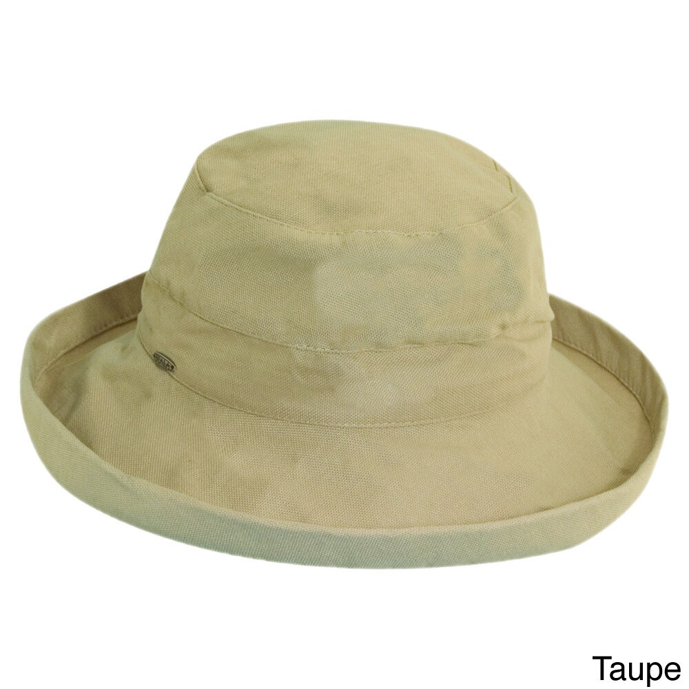 Shop Scala Women s Cotton UPF-Protected Packable Sun Hat - Free Shipping On  Orders Over  45 - Overstock - 6535306 07dcc27d222