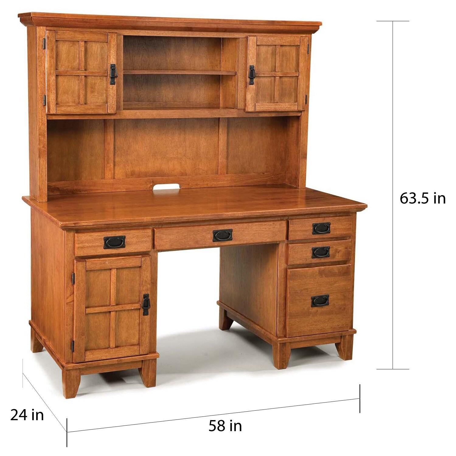 desk bridgefort desks oak hutch with corner computer top front