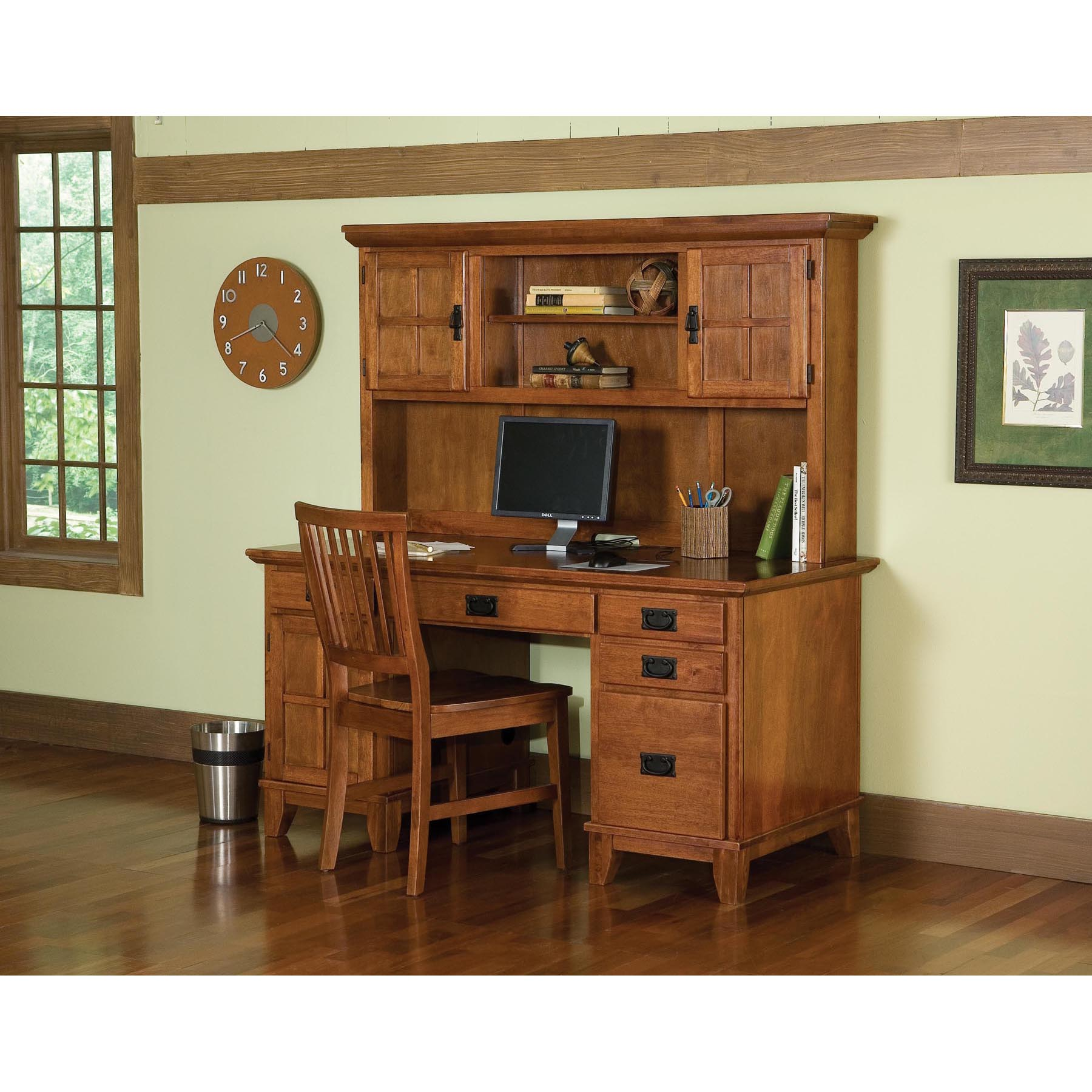 hutch drawers county sauder camden with computer desk products and