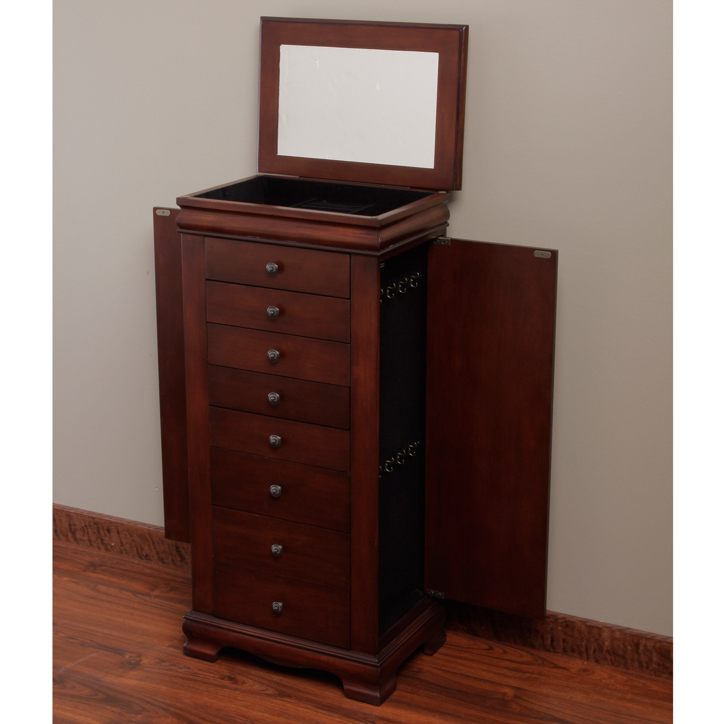 Marqs 8drawer Locking Jewelry Armoire Free Shipping Today