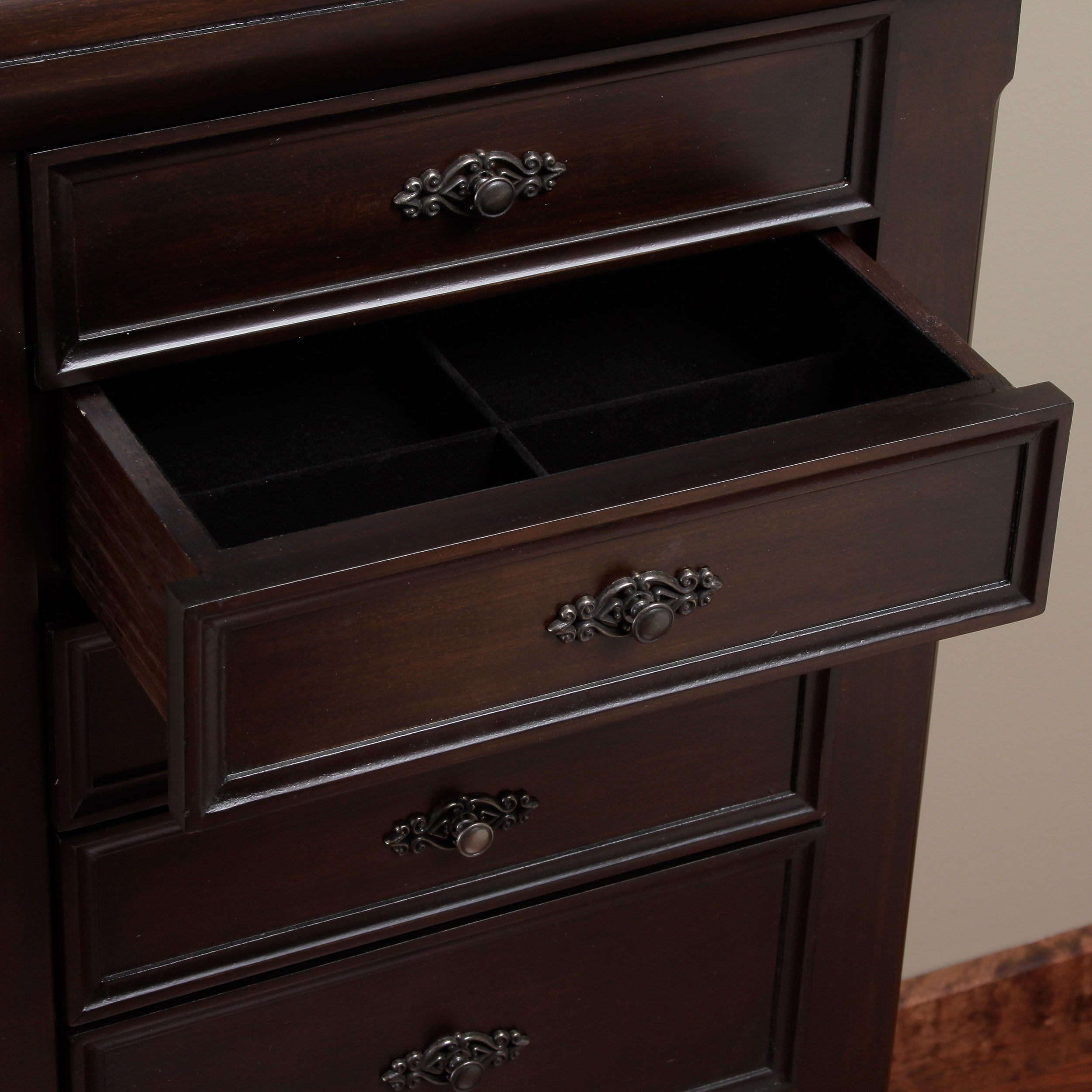 Louis 7drawer Locking Jewelry Armoire Free Shipping Today