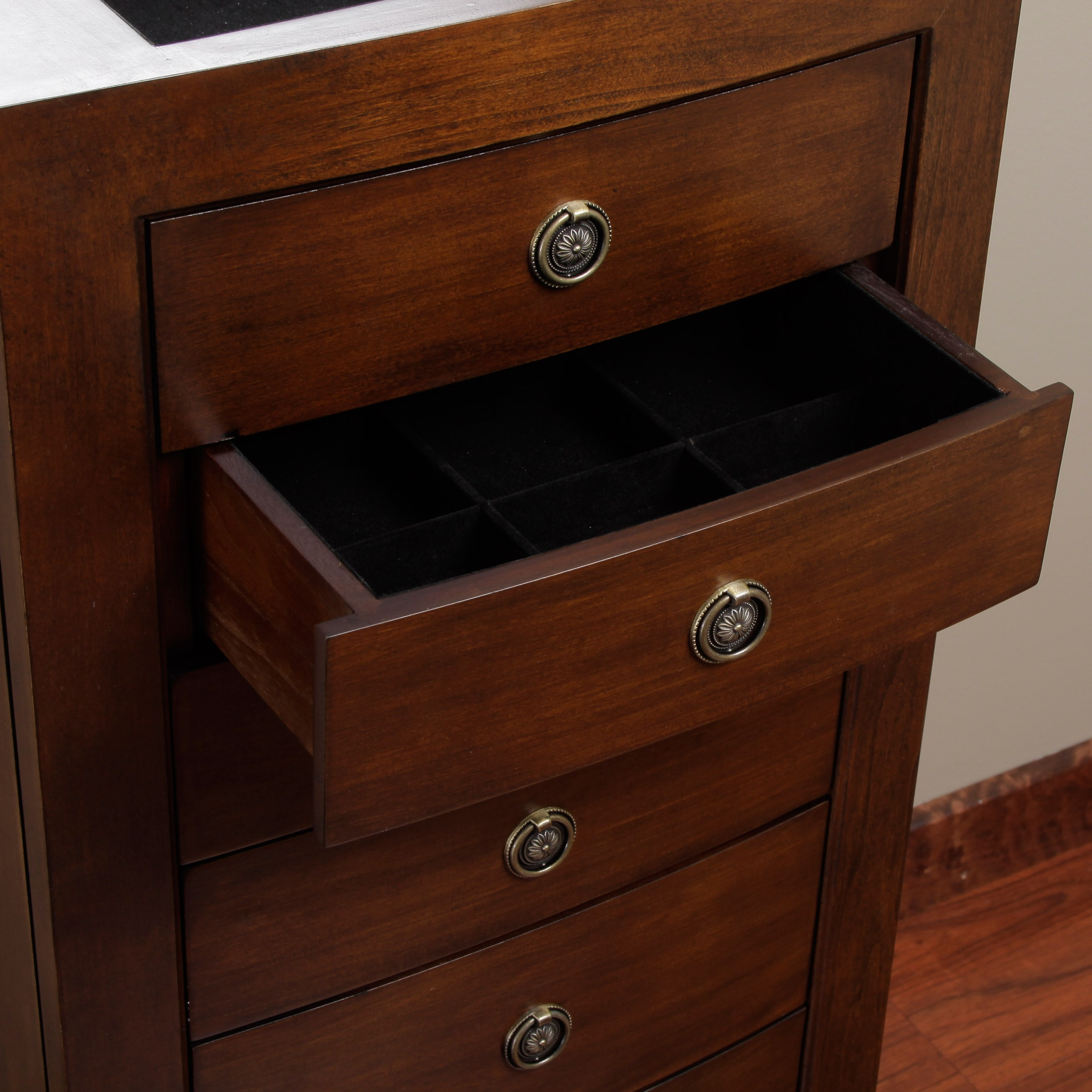 Carmen 7drawer Locking Jewelry Armoire Free Shipping Today