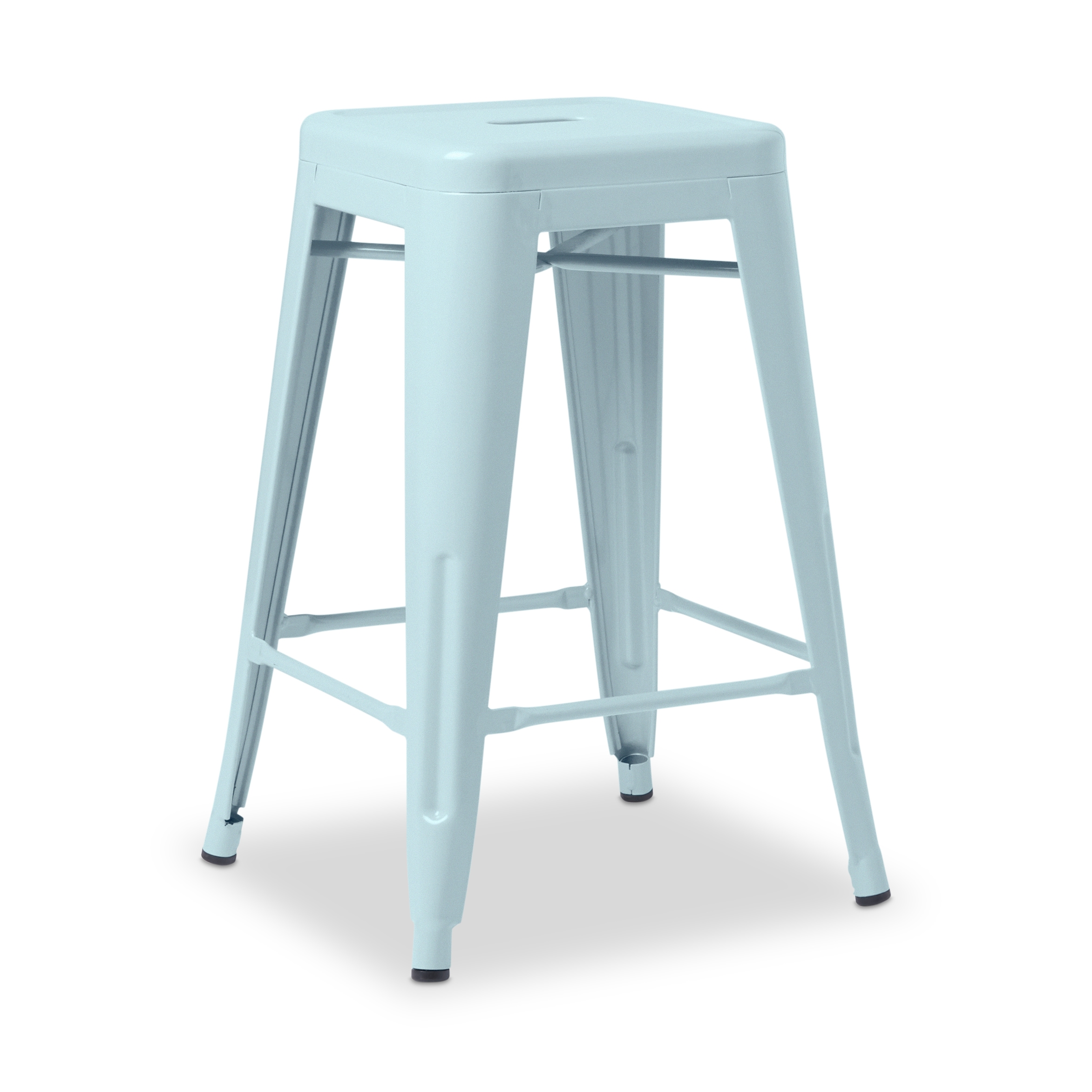 Shop Tabouret 24-inch Blue Counter Stool (Set of 2) - Free Shipping ...