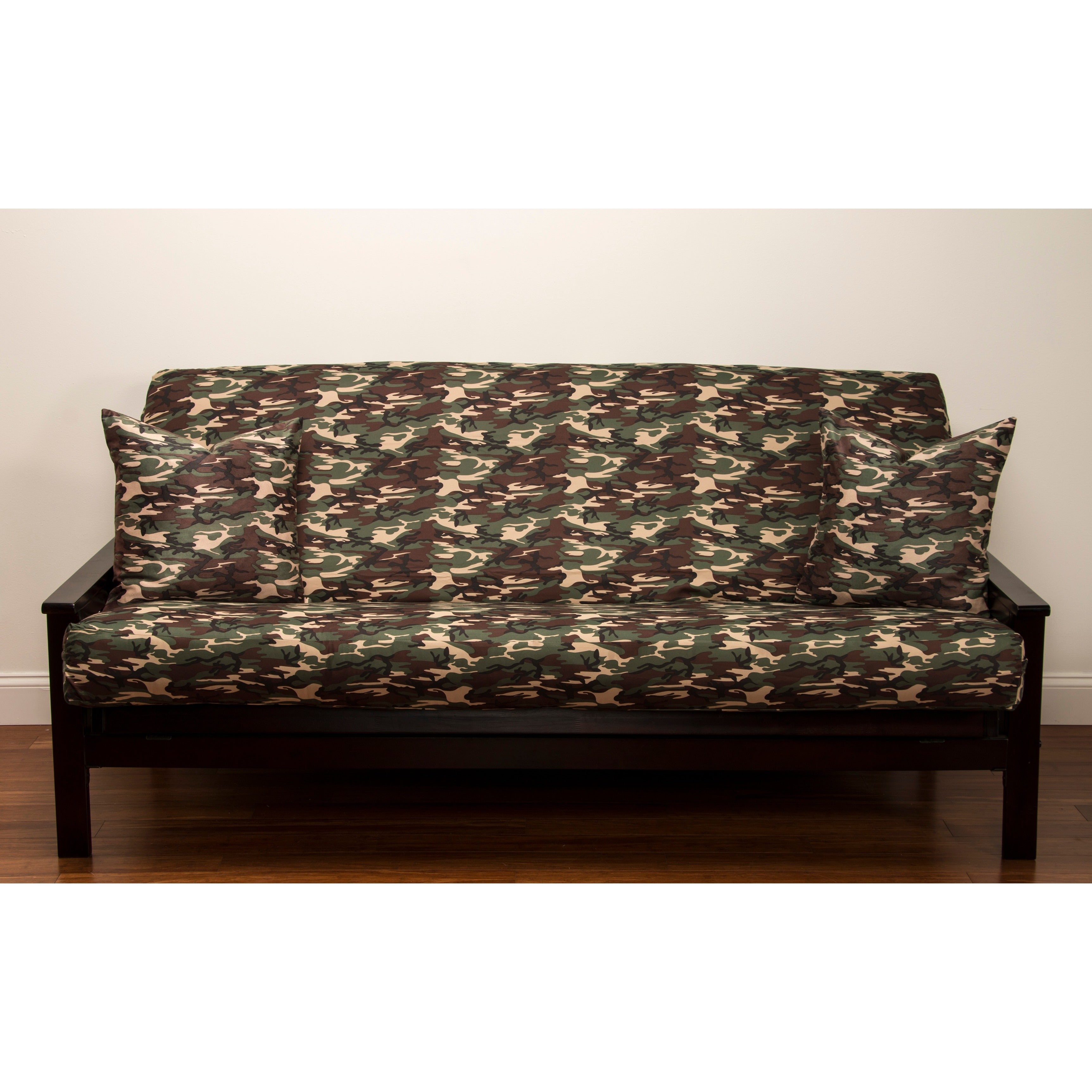 siscovers microfiber camouflage futon cover   free shipping today   overstock     14140746 siscovers microfiber camouflage futon cover   free shipping today      rh   overstock