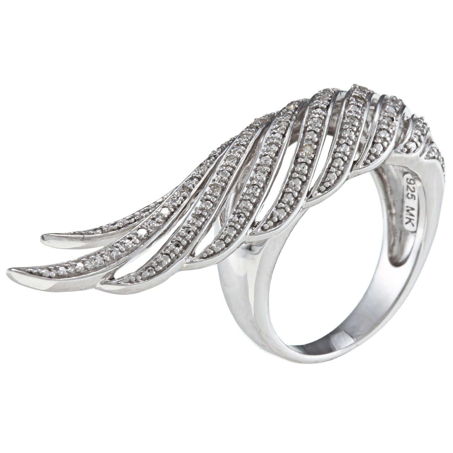 art hexagon ea settings ring e round rings deco moissanite engagement of forever feather luxury