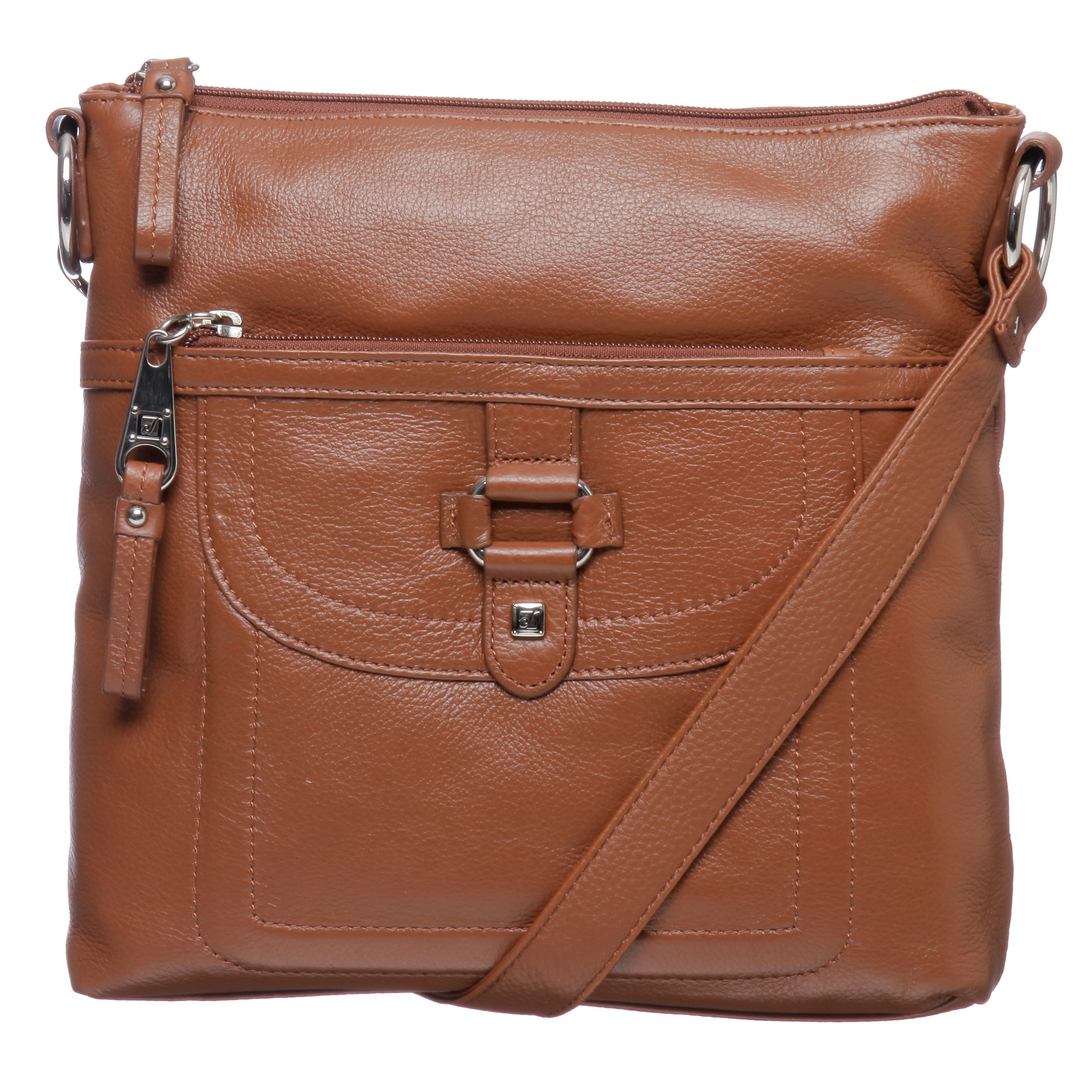 Stone Mountain Summit Leather Crossbody Bag Free Shipping Today 6569818