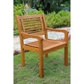 International Caravan Royal Tahiti Bar Harbor Outdoor Arm Chair (Set of 2)