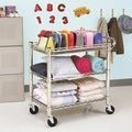 Seville Classics Heavy-Duty Commercial-Grade Utility Cart, NSF Listed