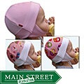 Dots on Tots 100-percent Organic Cotton Baby and Toddler Ear Flap Hat