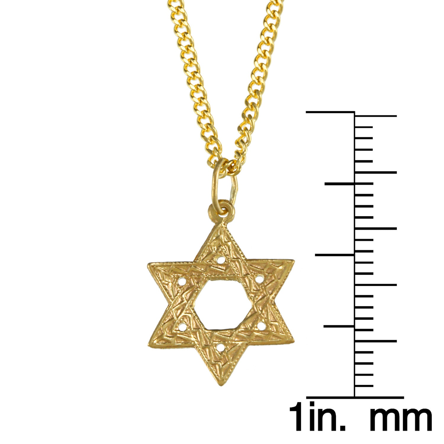 of gold star watches yellow david necklace jewelry designer overstock free product today shipping