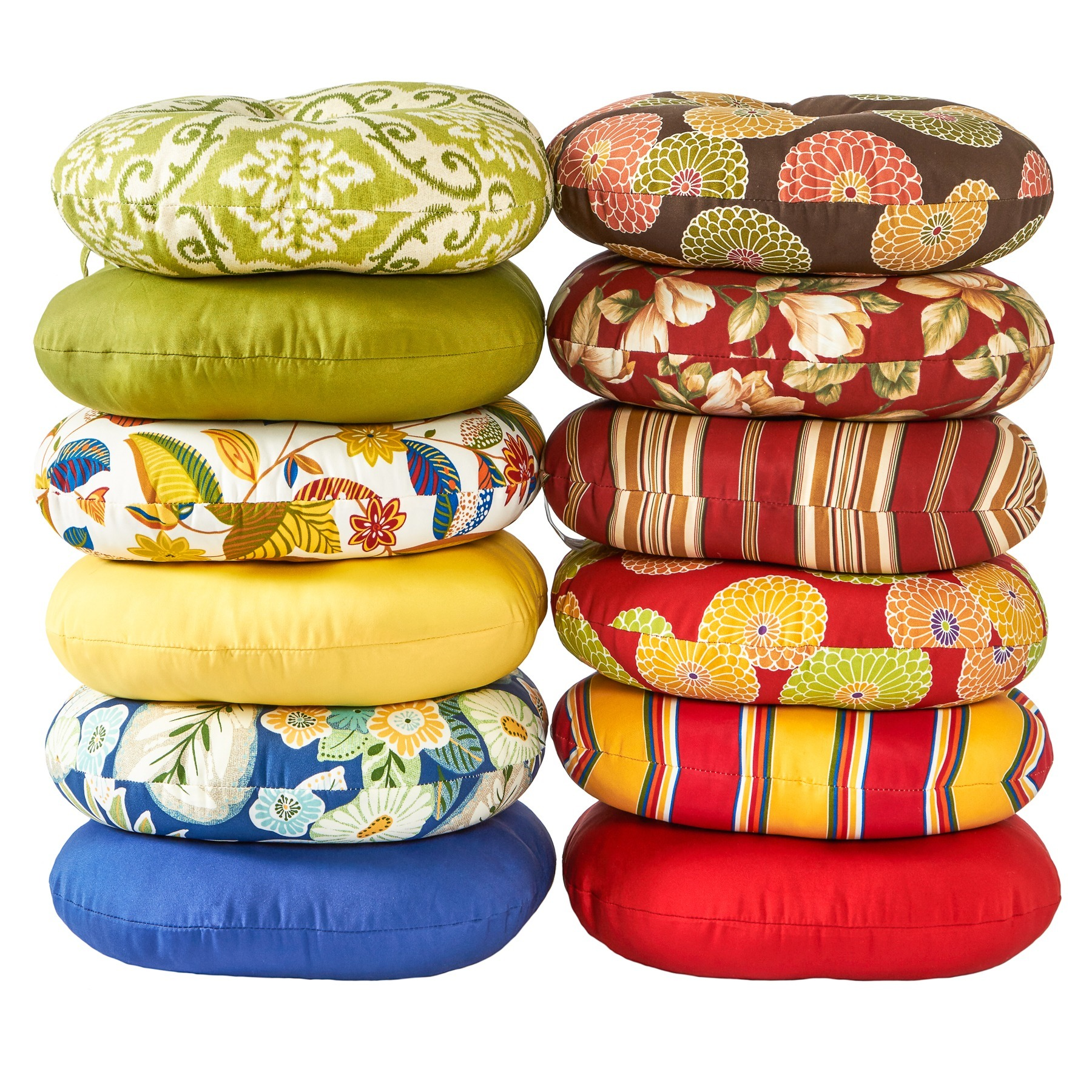 Awesome 18 Inch Round Outdoor Salsa Bistro Chair Cushion (Set Of 2)   18w X 18l    Free Shipping On Orders Over $45   Overstock   14155122