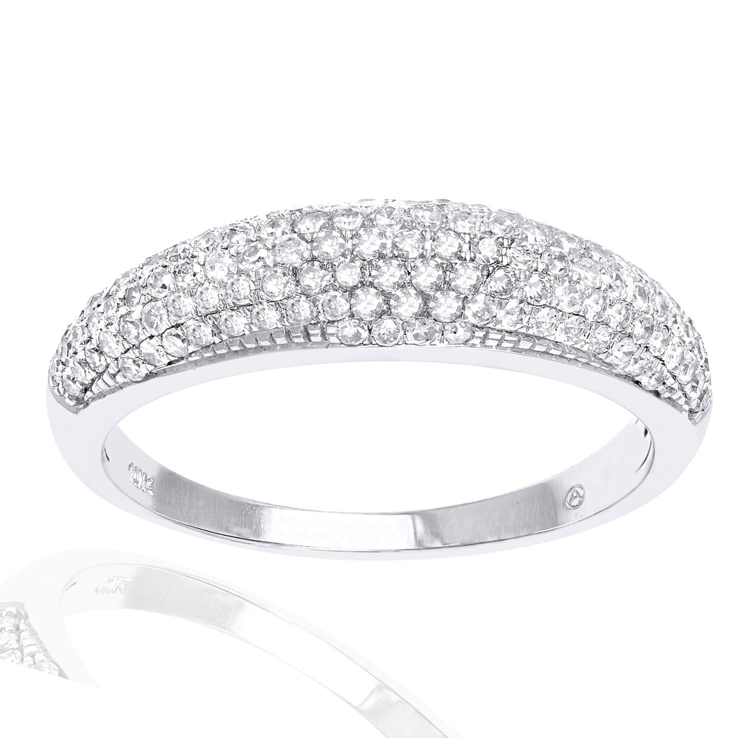 bands product stone anniversary cut round band carat ring diamond