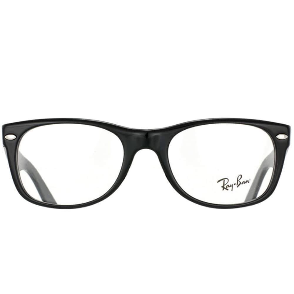 302b624066 Shop Ray-Ban RX 5184  New Wayfarer  50-mm 2000 Black Eyeglasses - Free  Shipping Today - Overstock - 6585315