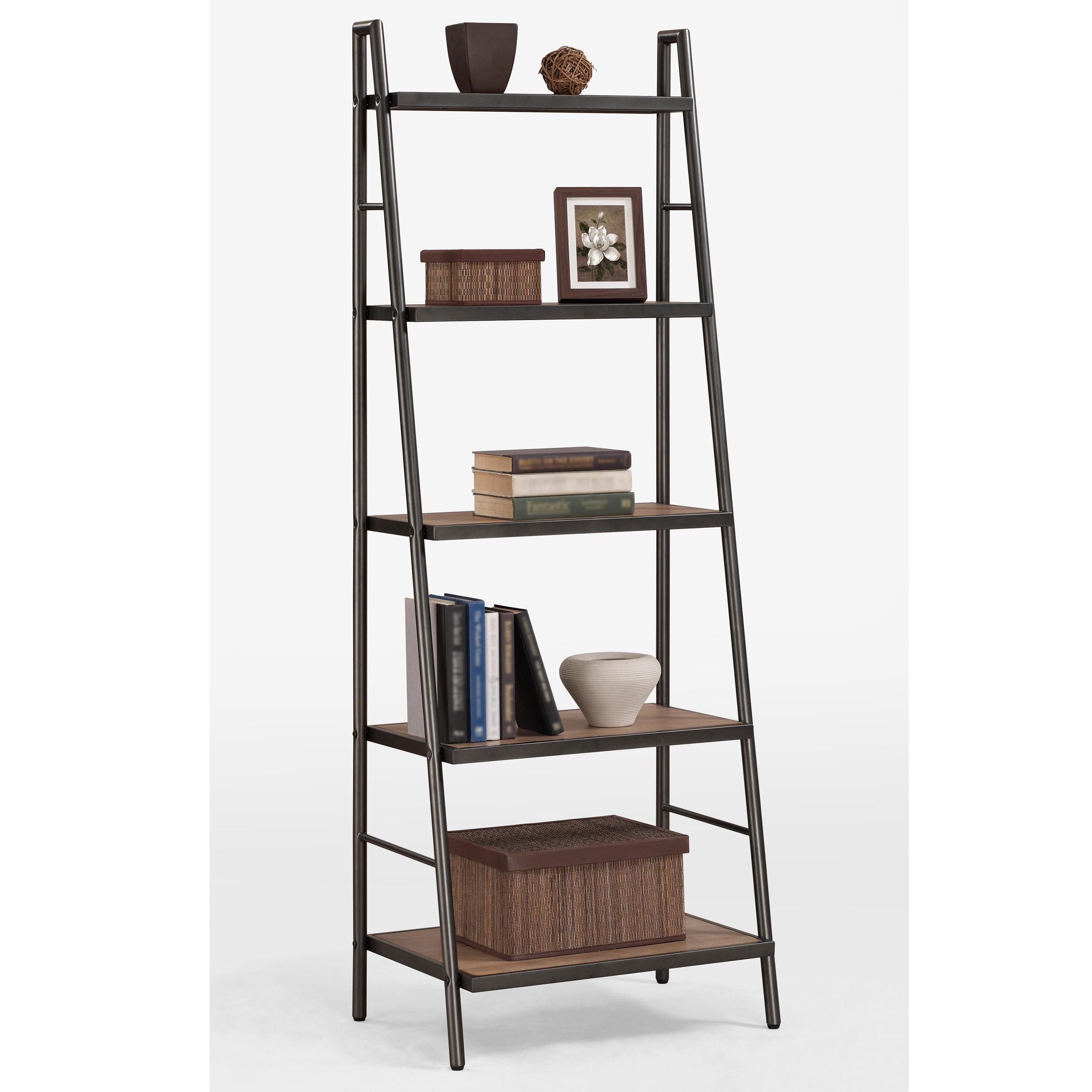 storage white shelf ladder picturesque bathroom well as leaning inspiration vintage in decors organization for ideas design and bookcase using scenic towel