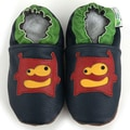 Lil' Monster Soft Sole Leather Baby Shoes