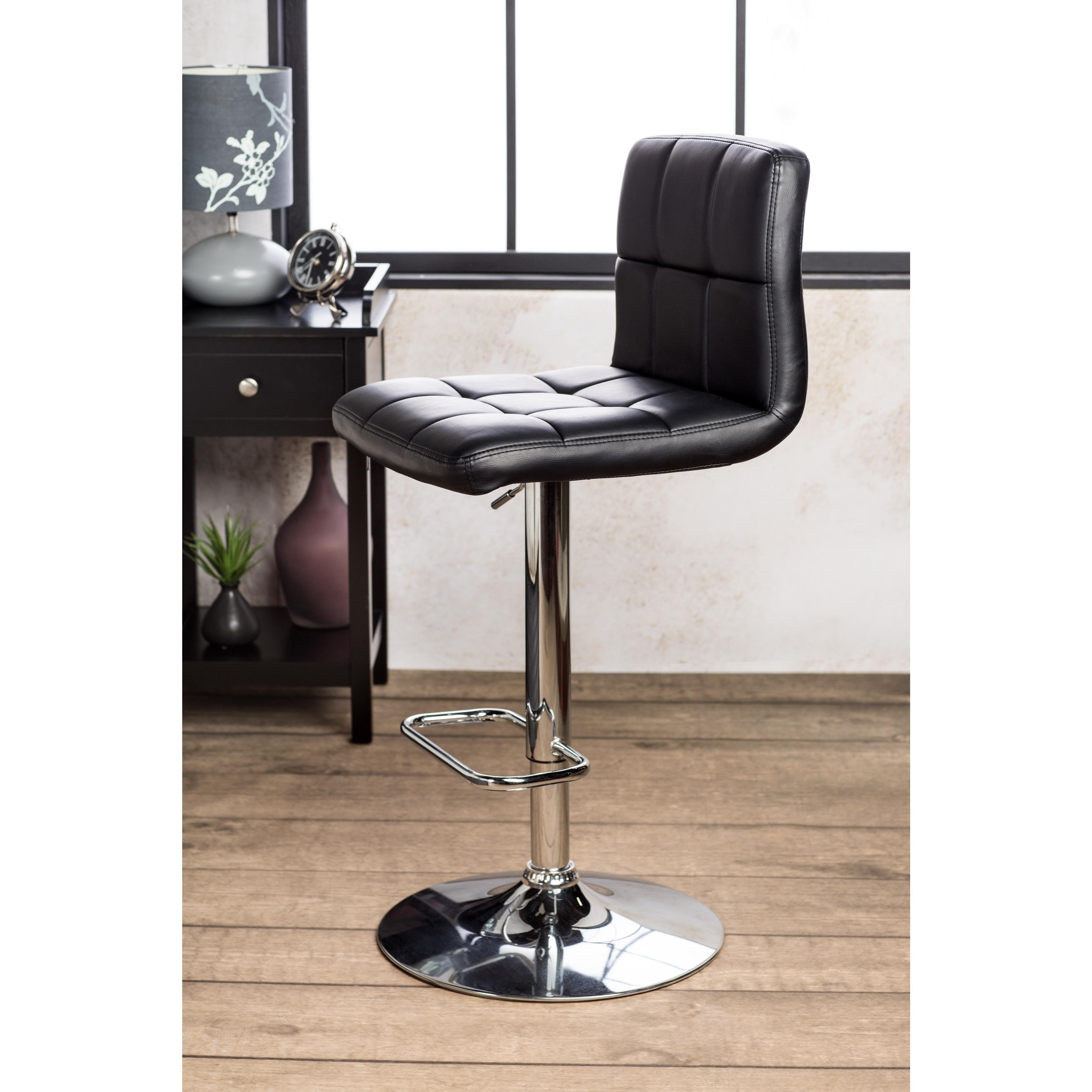 Furniture Of America The Comfy Doris Leatherette Bar Stool