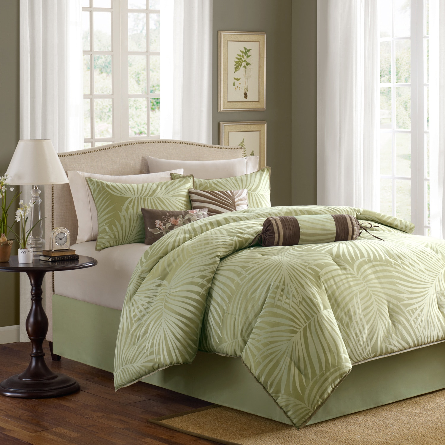 bed comforterset abode grey linen in humble sage by greysage champagne tomasini set comforter collection