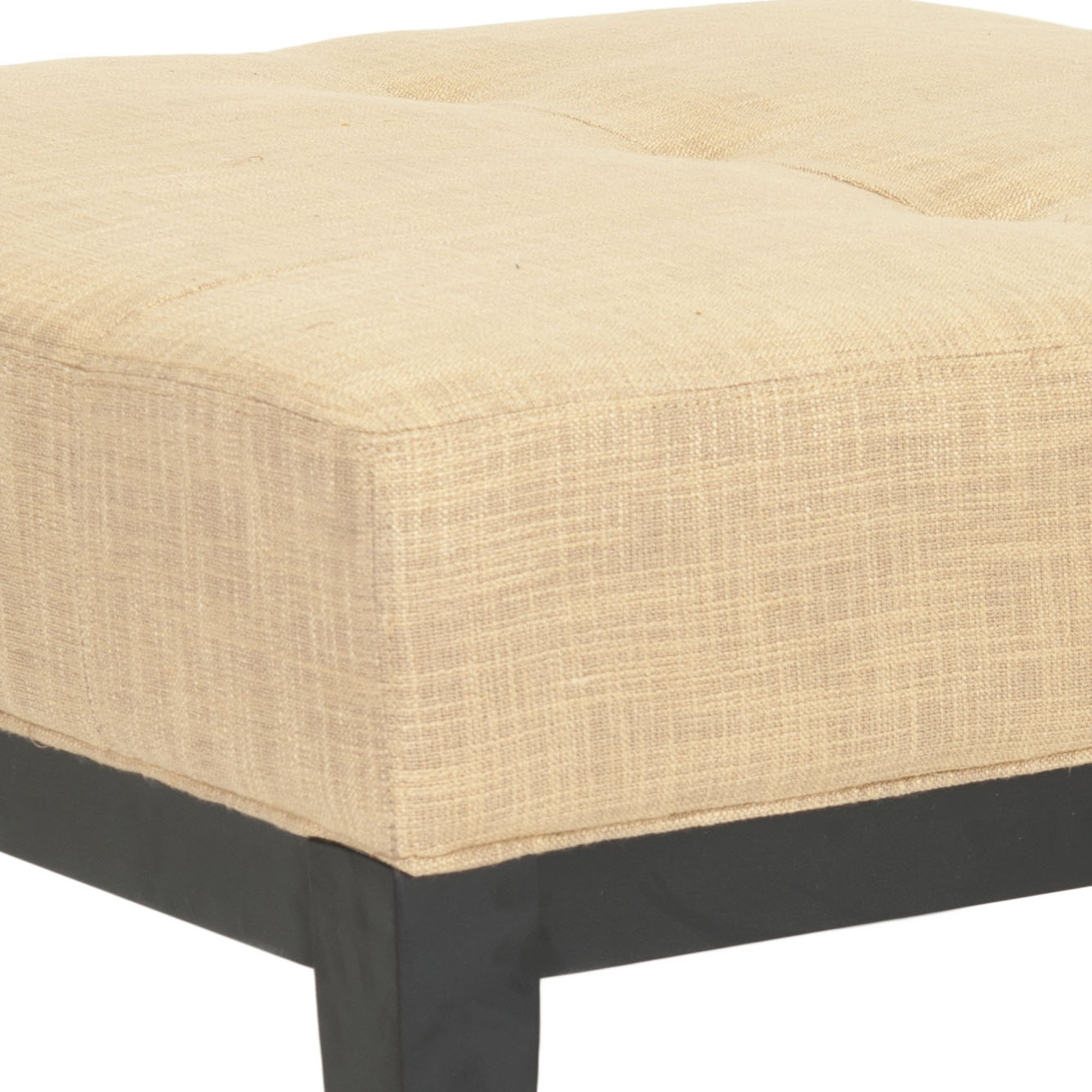 Safavieh Fulton Storage Gold Viscose Square Ottoman   Free Shipping Today    Overstock   14175347