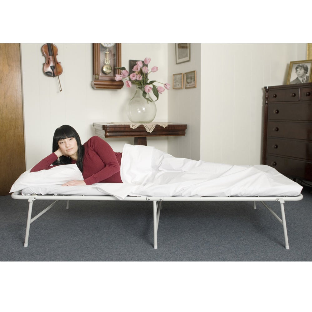 Shop Ibed In A Box Hideaway Guest Bed Folding Cot Free Shipping