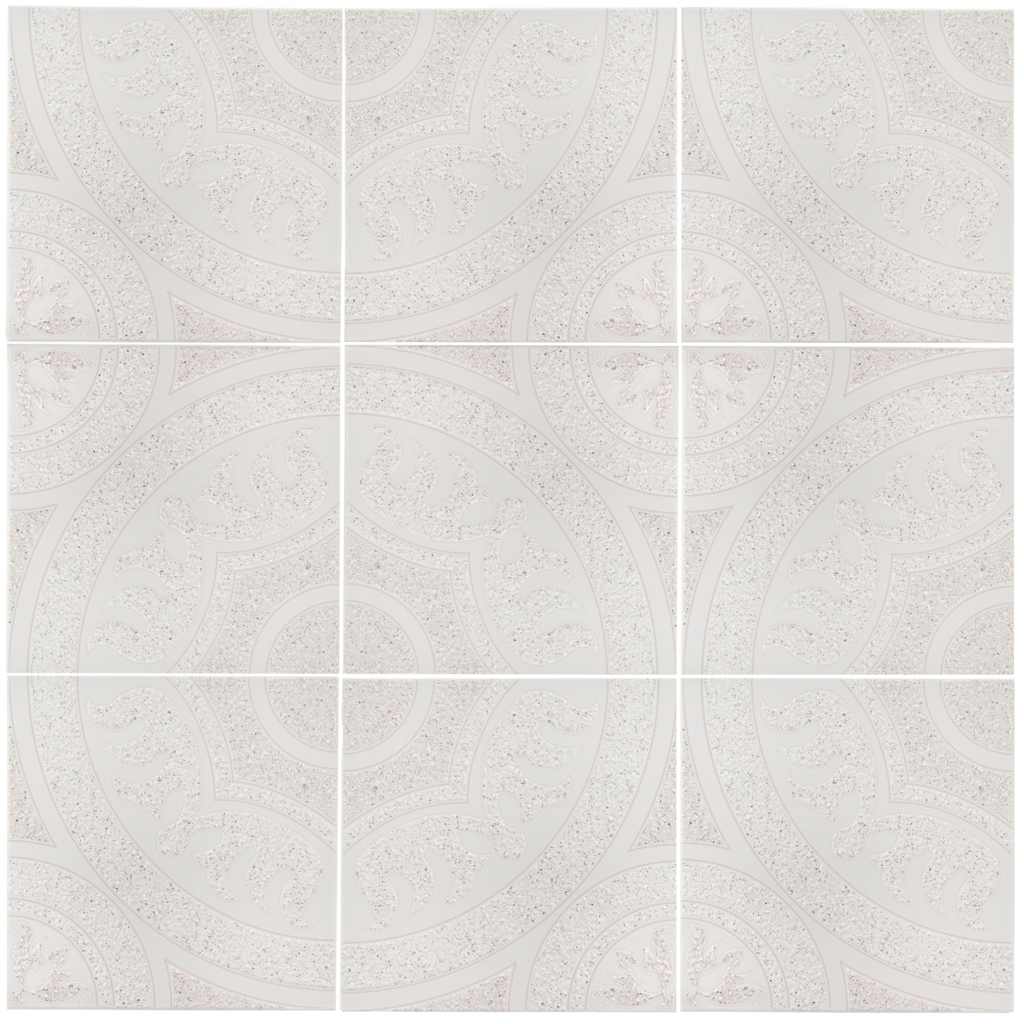 Shop Somertile 125x125 Inch Sonaba Beige Ceramic Floor And Wall