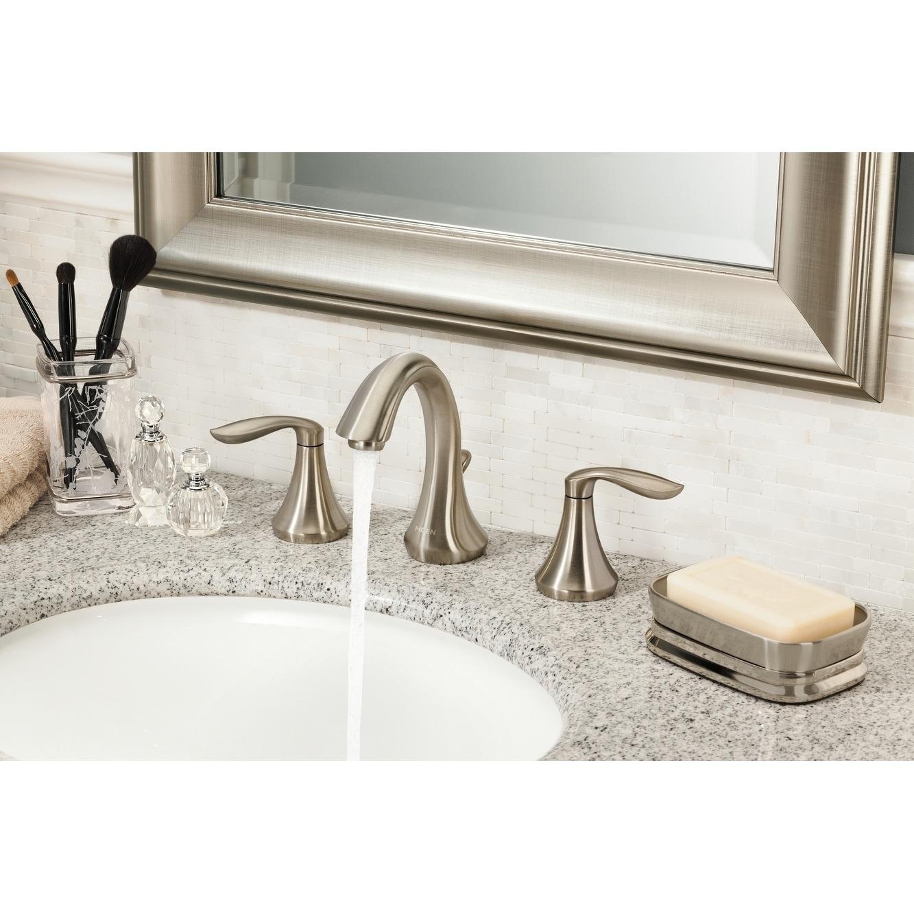 Shop Moen Eva Two-Handle High Arc Bathroom Faucet Trim T6420BN ...