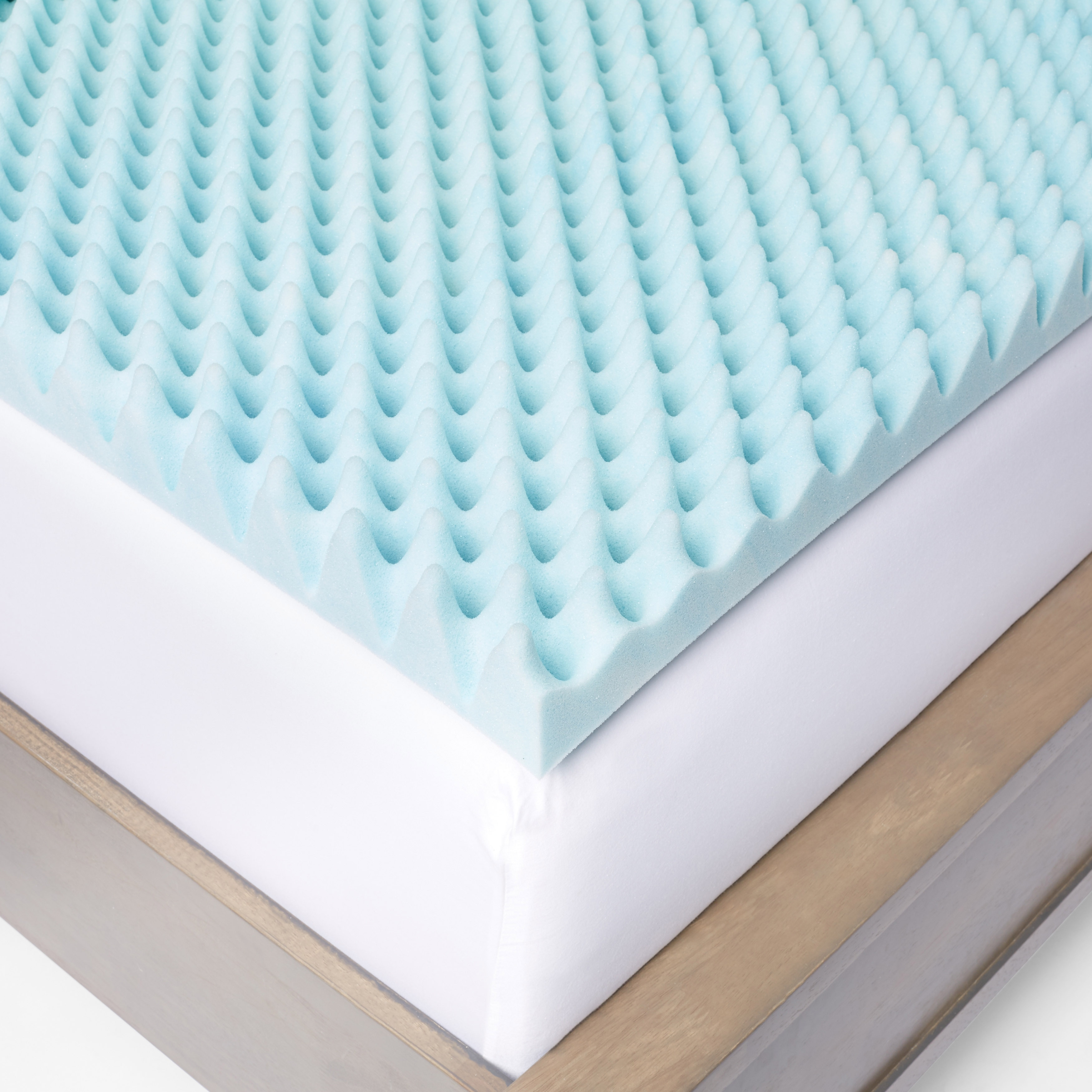 Shop Slumber Solutions Gel Highloft Memory Foam Mattress Topper With