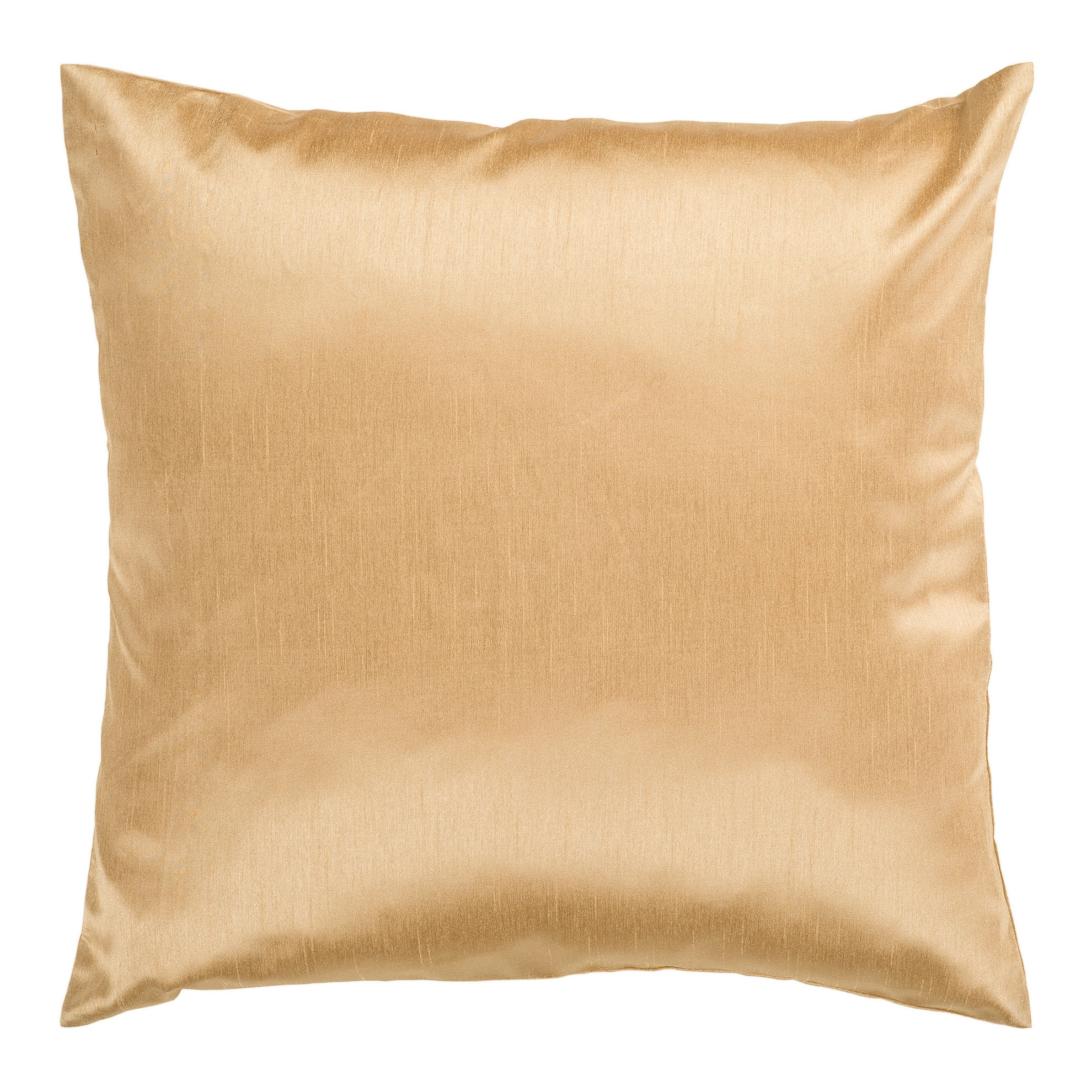 Decorative Chic Removable Cover 18-inch Square Solid Throw Pillow ...