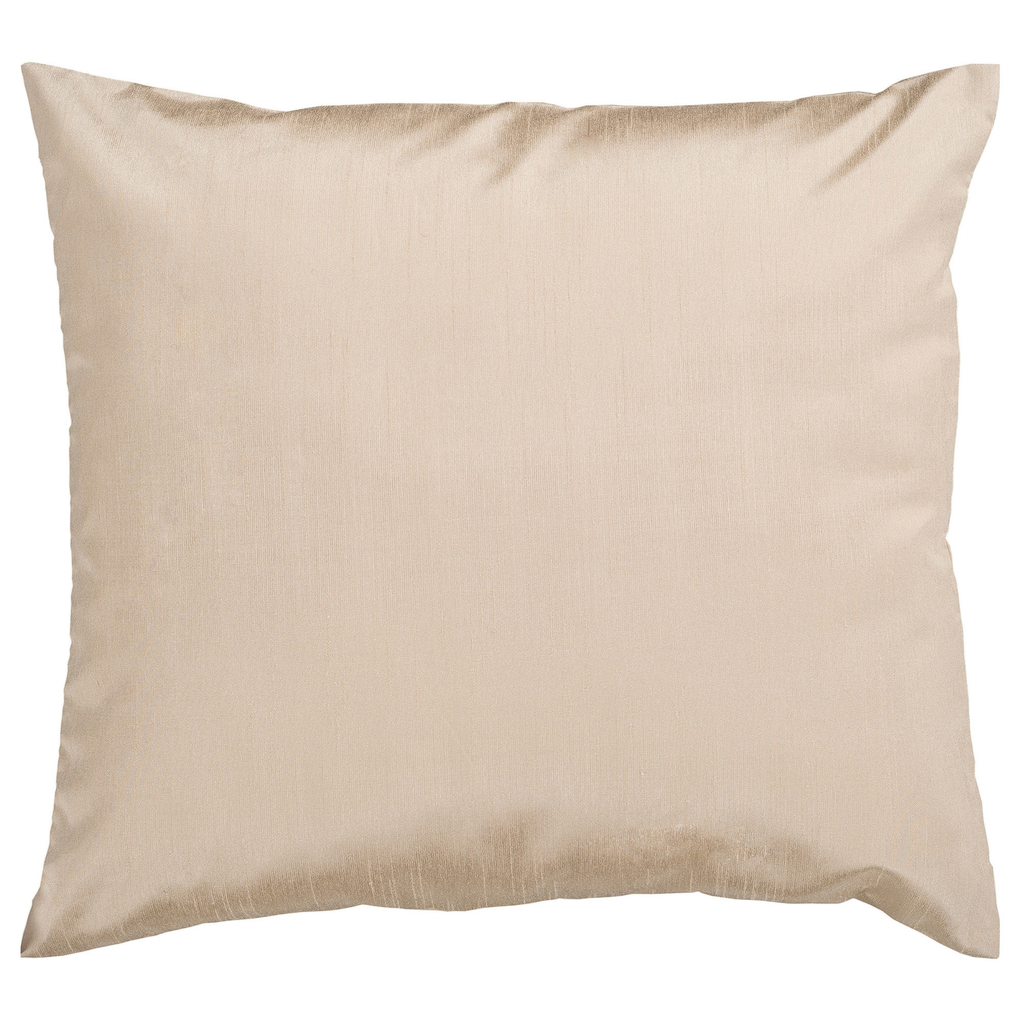 Decorative Chic Removable Cover 17-inch Square Solid Throw Pillow ...