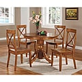 Pine Canopy Mendocino Cottage Oak 5-piece Dining Furniture Set