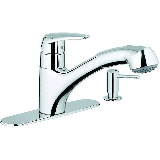 Attrayant Grohe Dual Spray Pull Out Kitchen Faucet