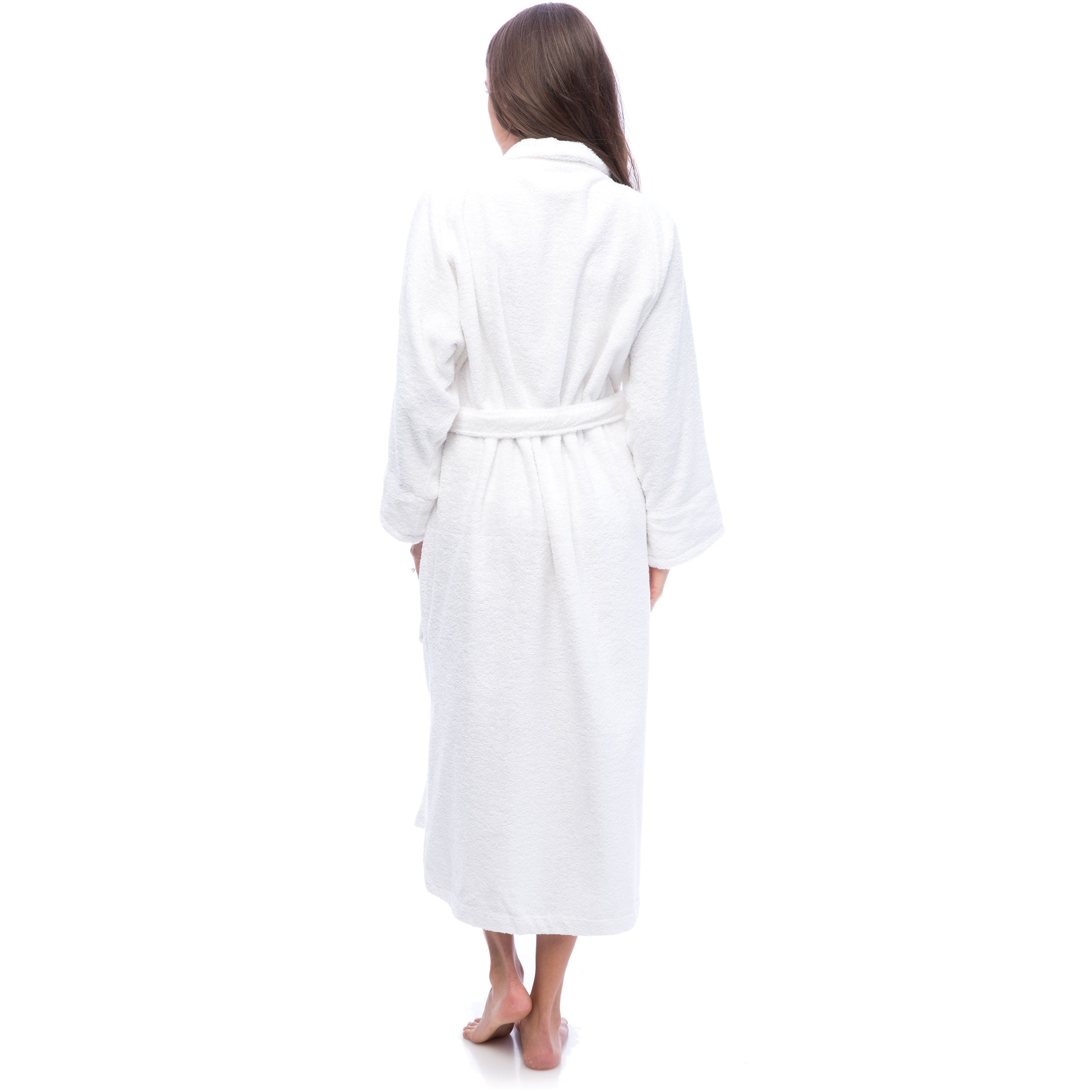 bef62d2ae8 Shop Superior Luxurious 100-percent Combed Cotton Unisex Terry Bath Robe -  On Sale - Free Shipping On Orders Over  45 - Overstock - 6632152