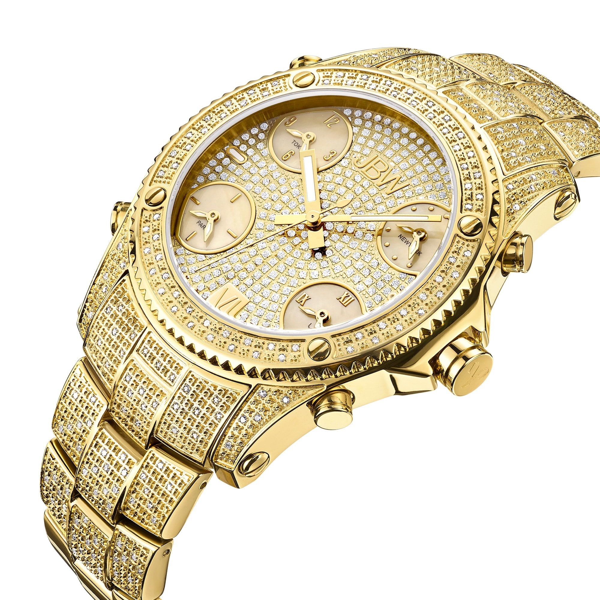com watch diamond prod p mens iced watches out luxurman src