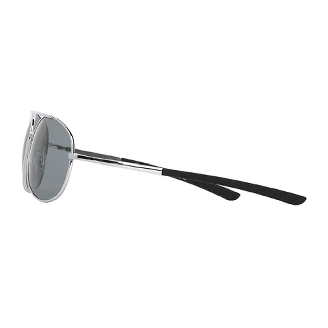 a057061aa2 Shop Body Glove  Oahu  Men s Polarized Sunglasses - Silver - Free Shipping  On Orders Over  45 - Overstock - 6640874