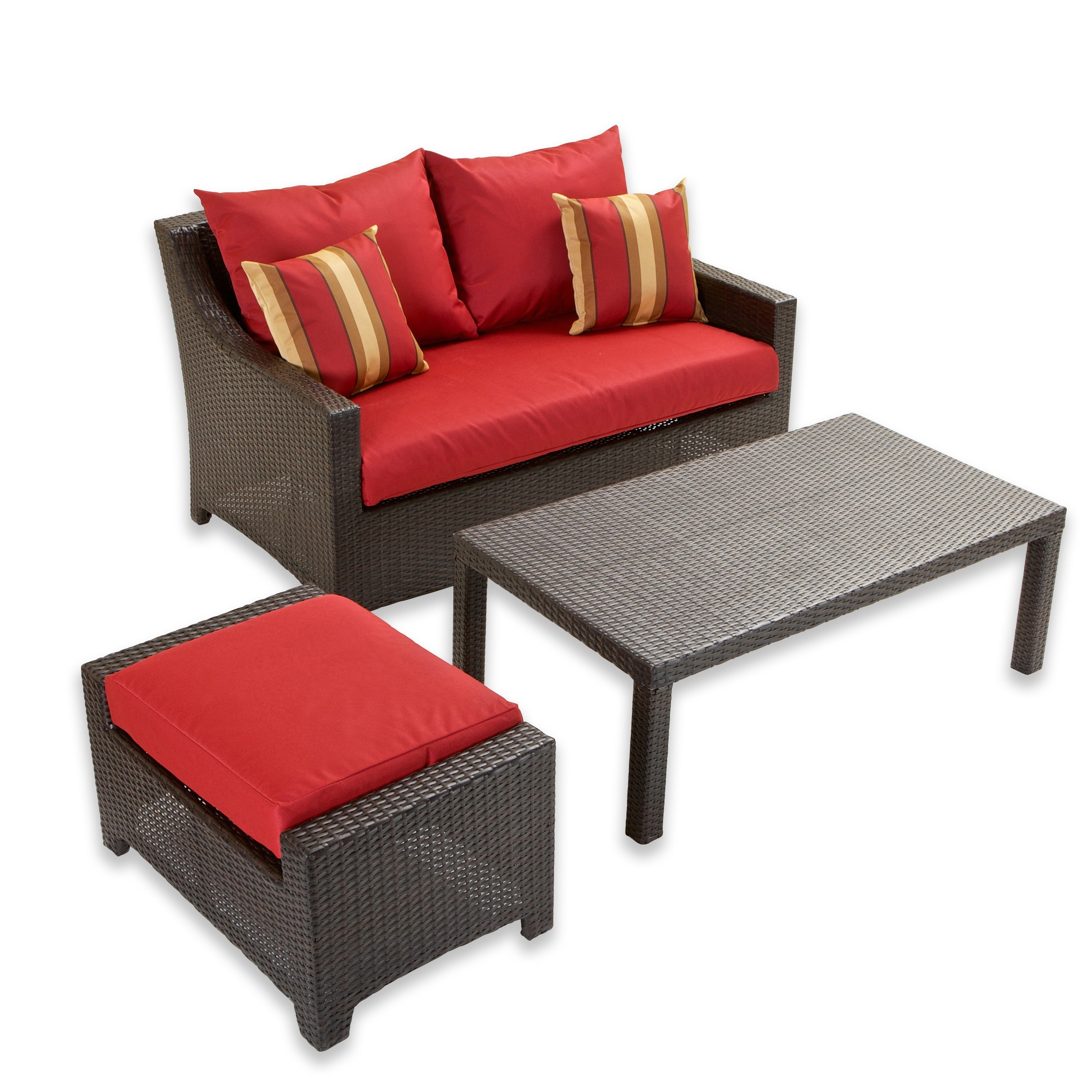 RST Brands Cantina 3 piece Outdoor Furniture Set Free Shipping