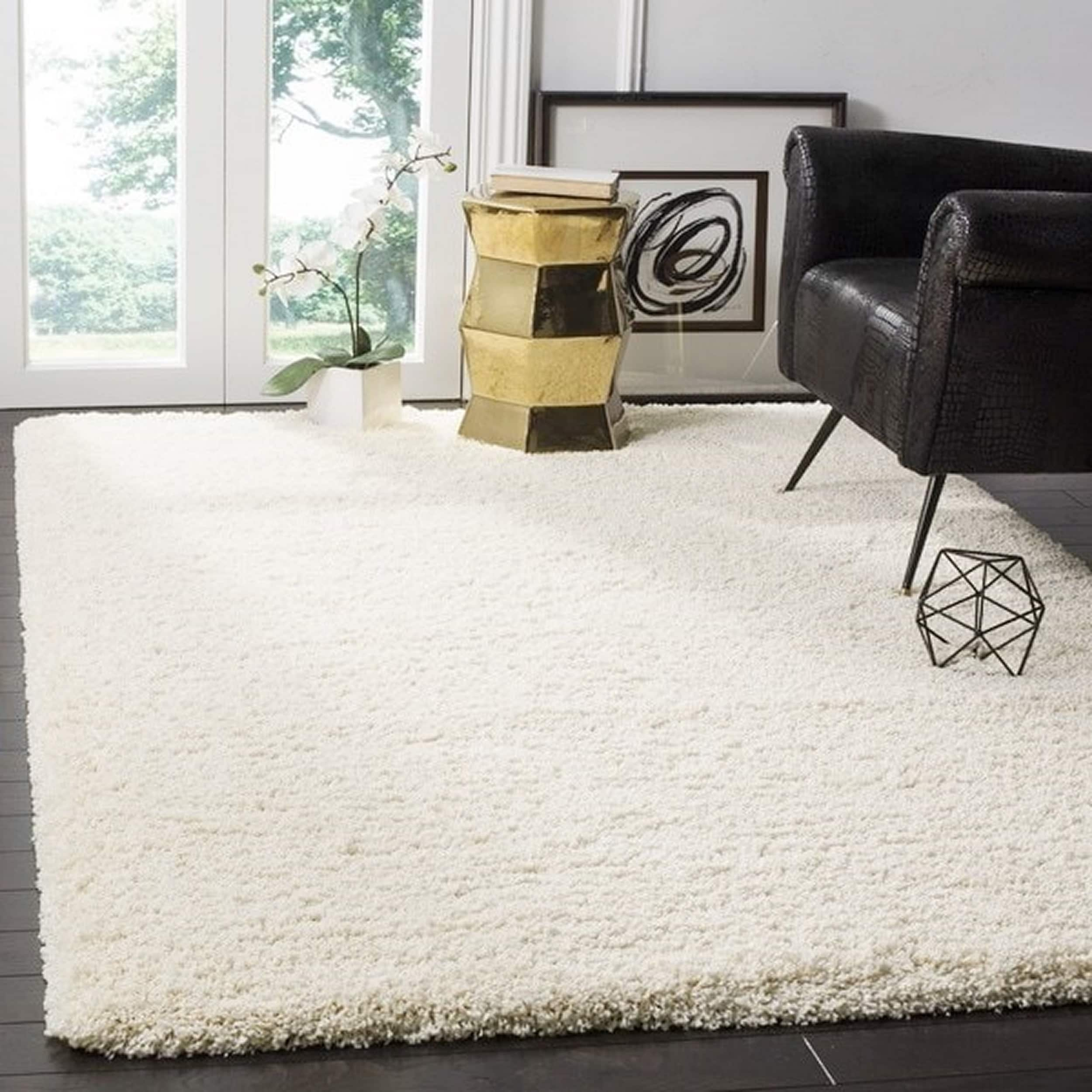 Safavieh California Cozy Plush Ivory Shag Rug (9'6 x 13') - Free Shipping  Today - Overstock.com - 14213421